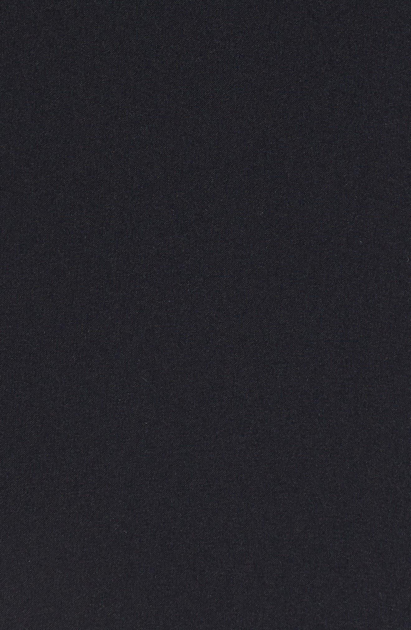 CANADA GOOSE,                             Breton 675-Fill Power Down Coat,                             Alternate thumbnail 6, color,                             BLACK
