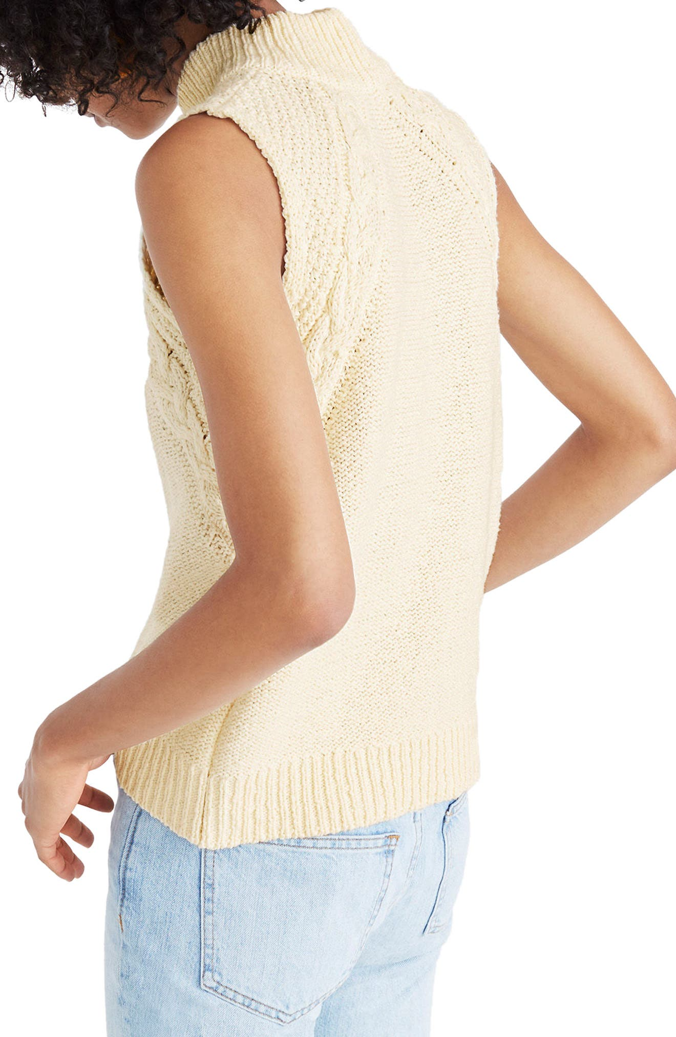 Mixed Stitch Sweater Tank,                             Alternate thumbnail 2, color,                             250