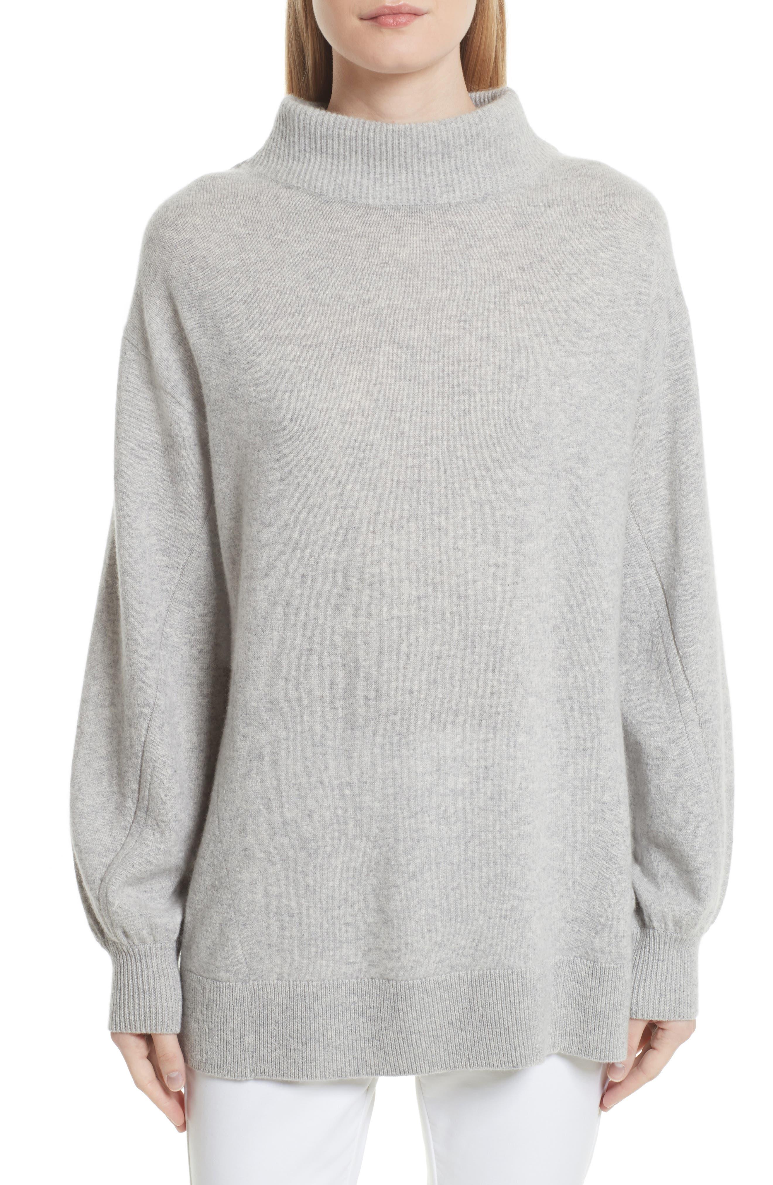 Ace Cashmere Turtleneck Sweater,                             Main thumbnail 1, color,                             058