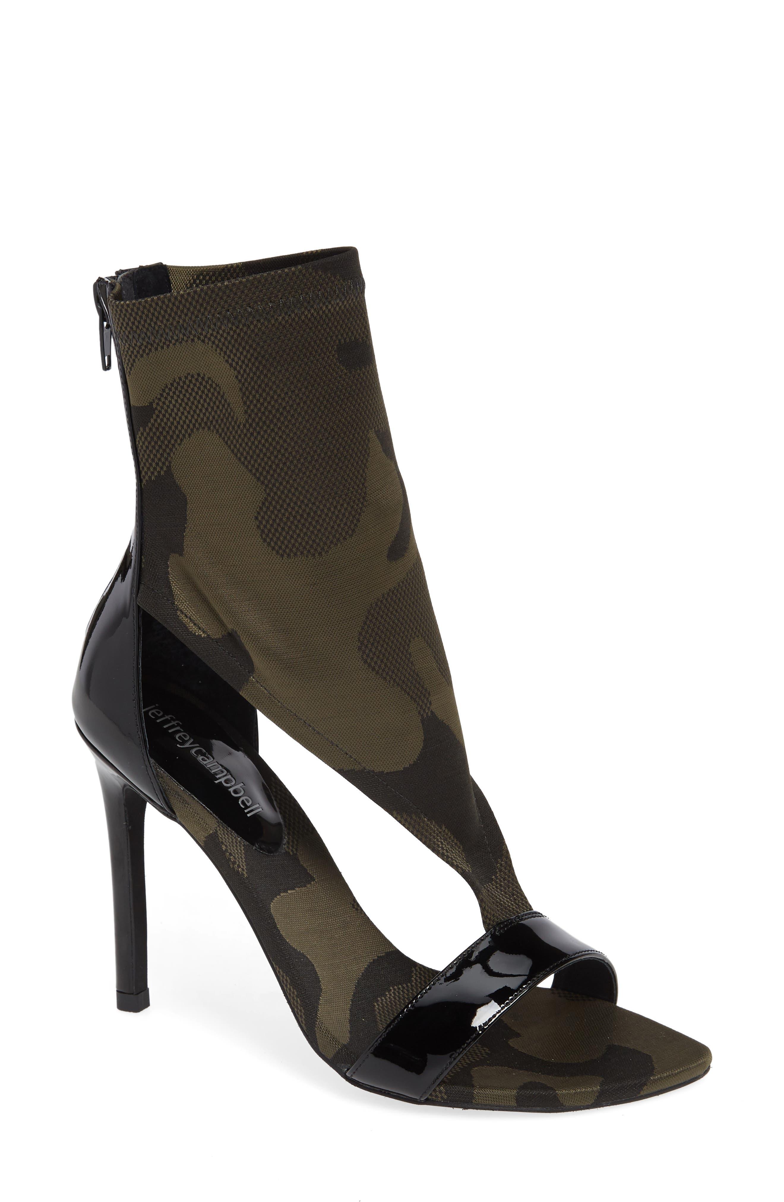 Ambush Bootie Sandal,                         Main,                         color, 001