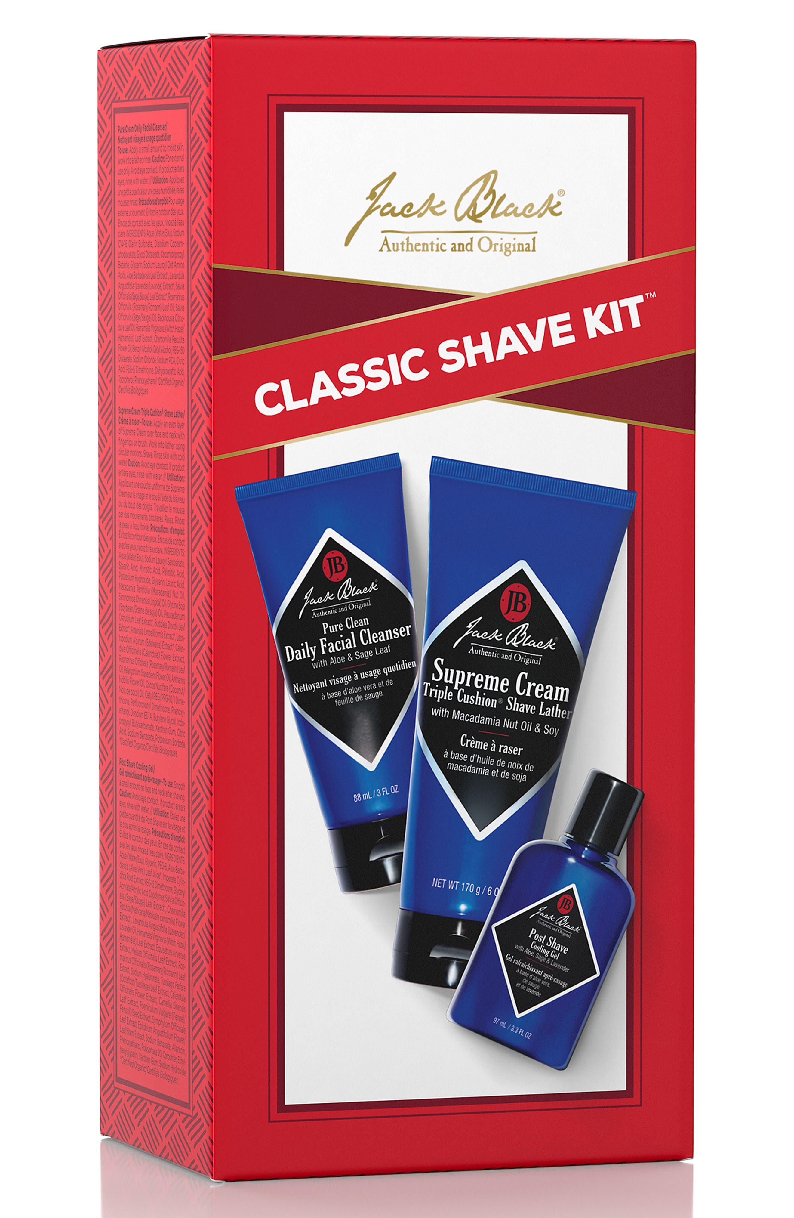 Classic Shave Kit,                             Alternate thumbnail 3, color,                             000