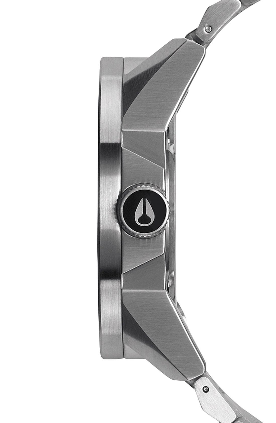 'The Corporal' Bracelet Watch, 48mm,                             Alternate thumbnail 2, color,                             SILVER/ BLUE SUNRAY