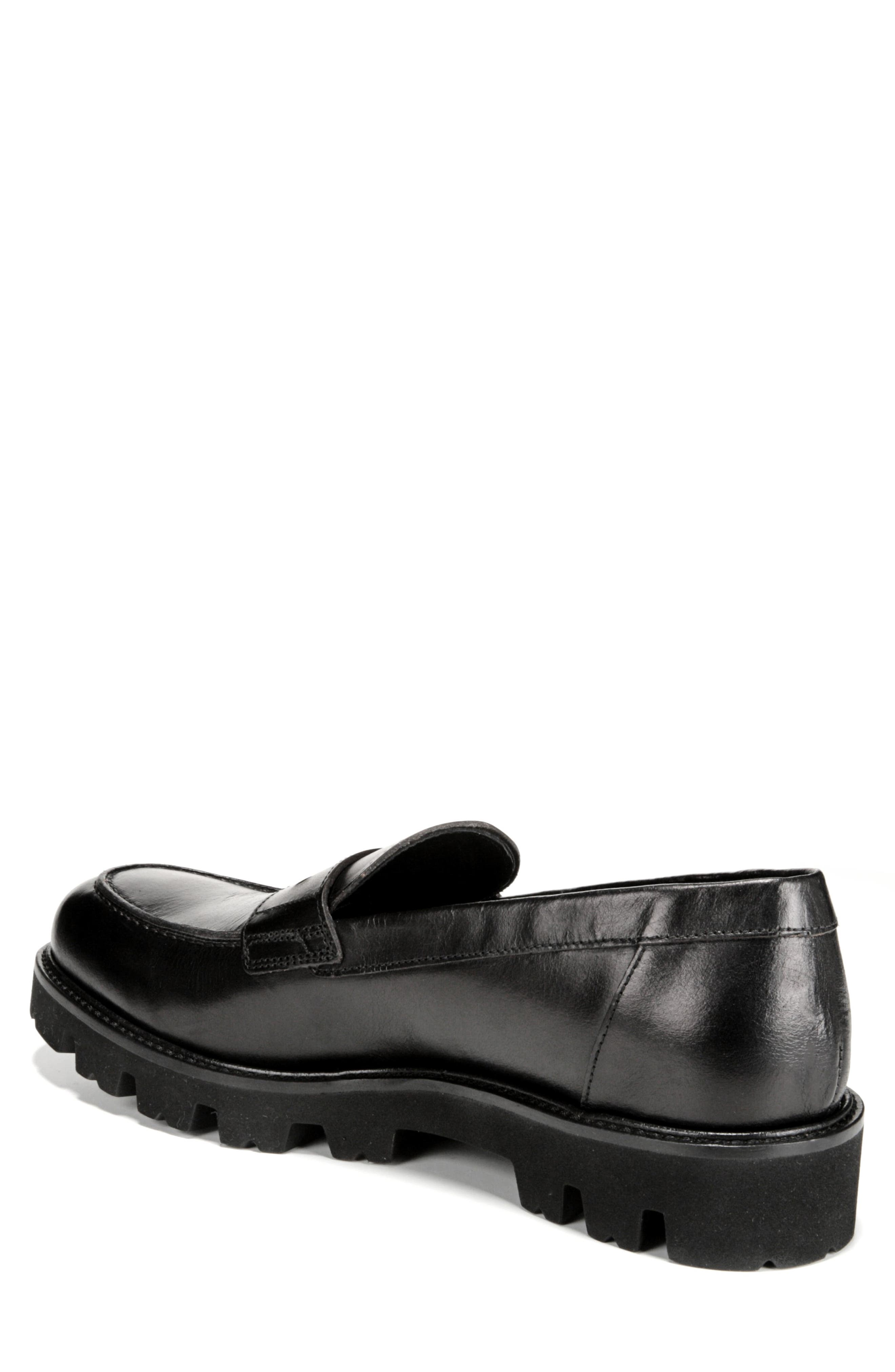 Comrade Loafer,                             Alternate thumbnail 2, color,                             BLACK