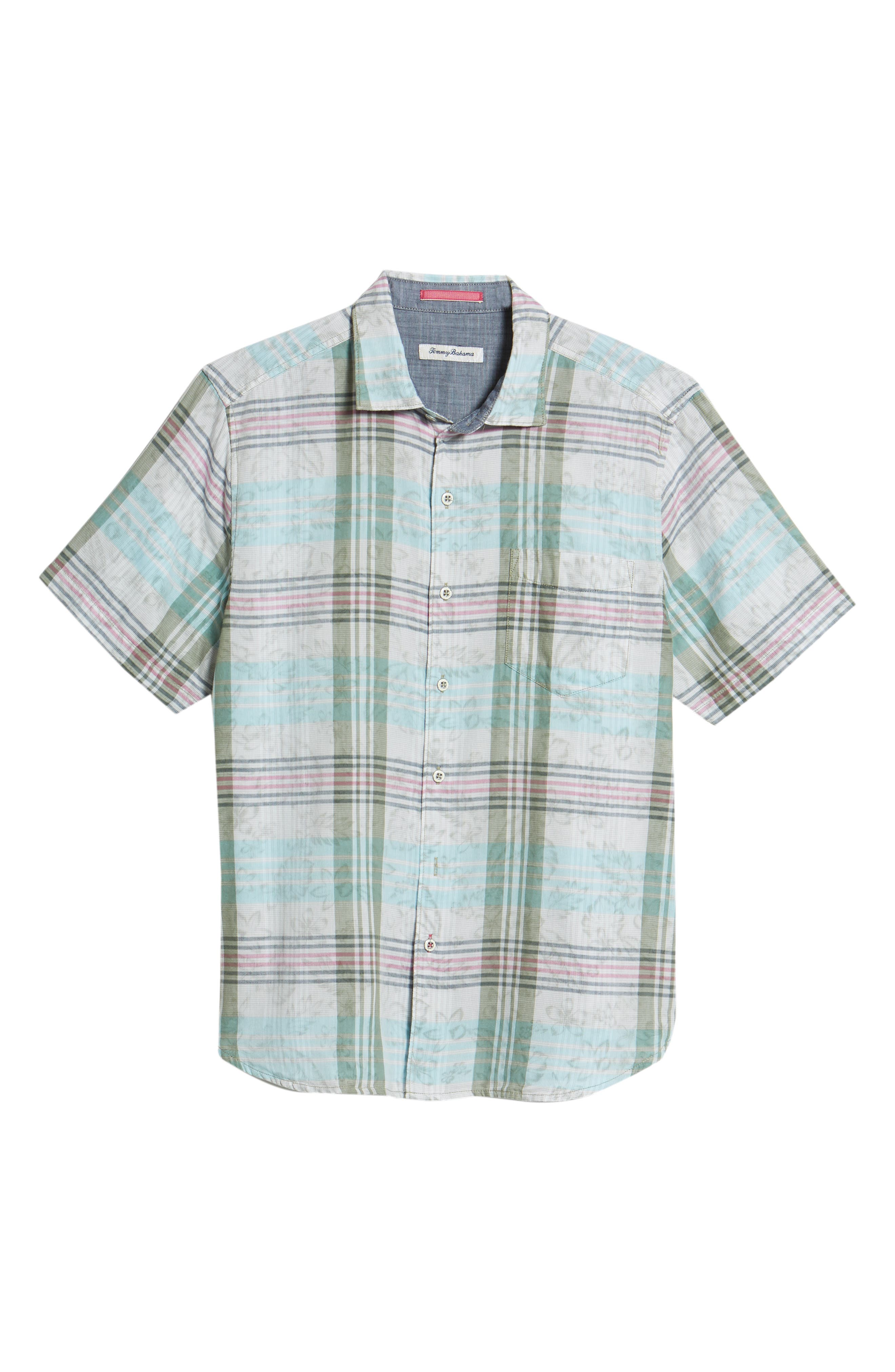 Zuma Plaid Sport Shirt,                             Alternate thumbnail 6, color,                             300