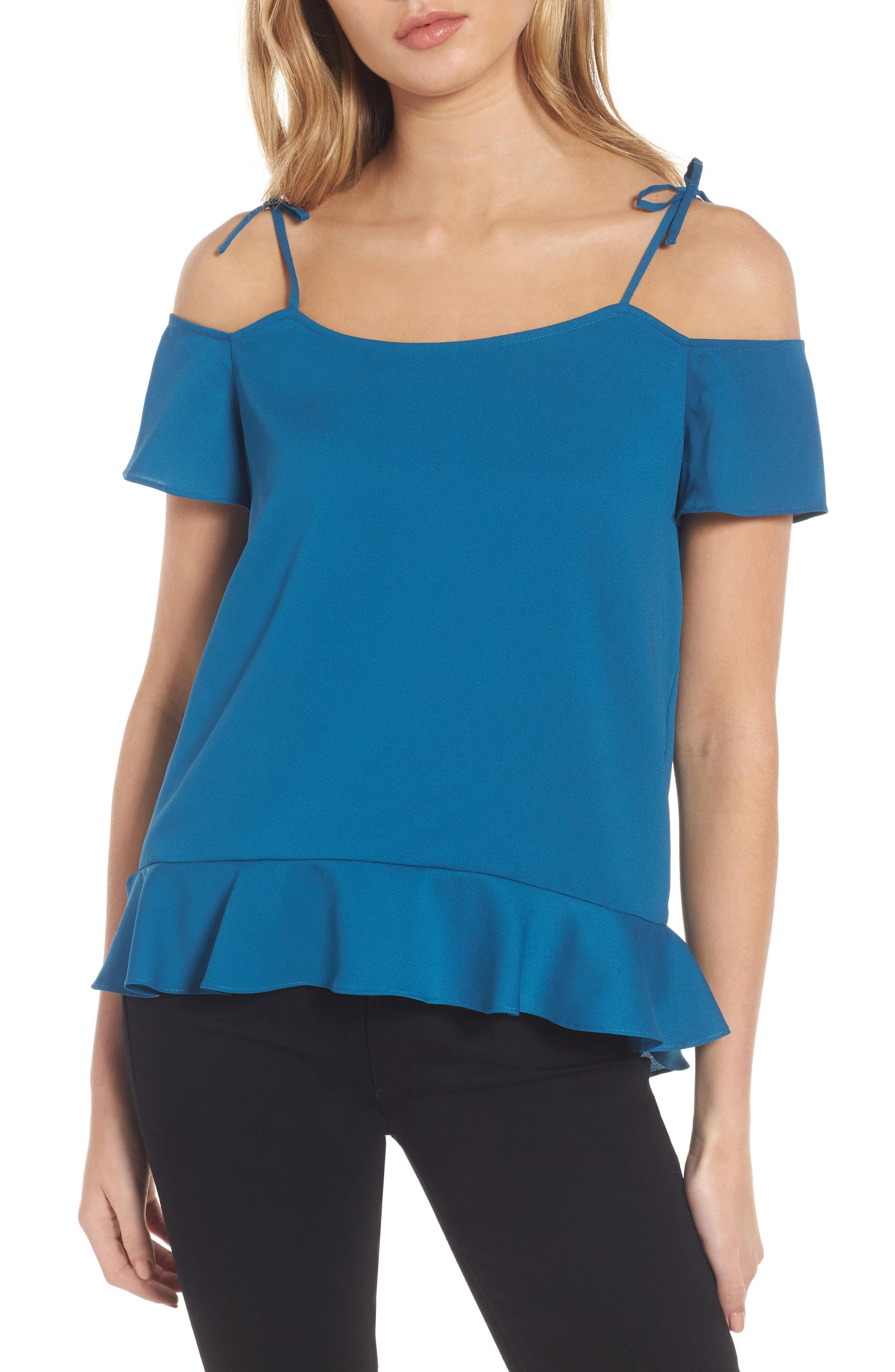 Maja Cold Shoulder Blouse,                         Main,                         color, 422