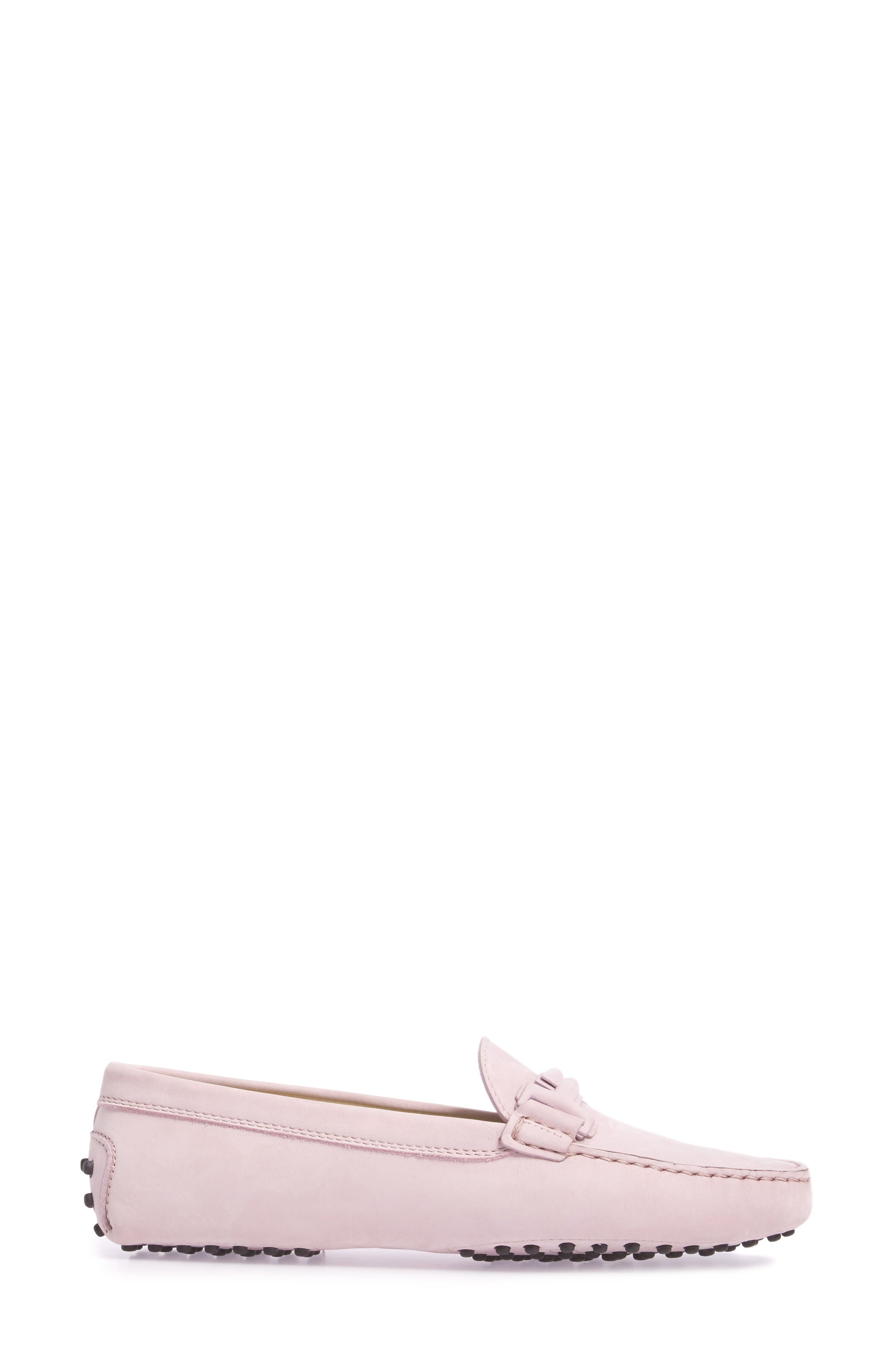 Gommini Covered Double T Loafer,                             Alternate thumbnail 8, color,