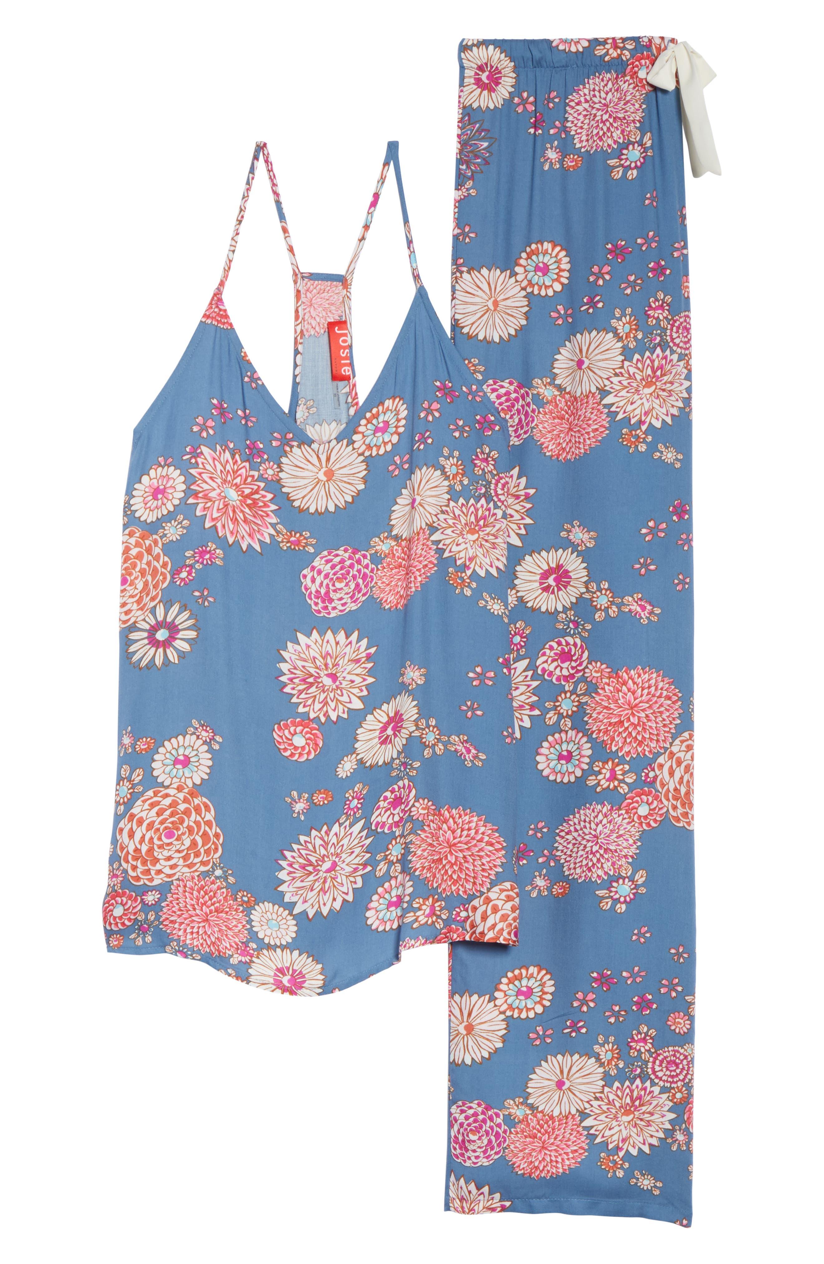 Floral Pajamas,                             Alternate thumbnail 6, color,                             400