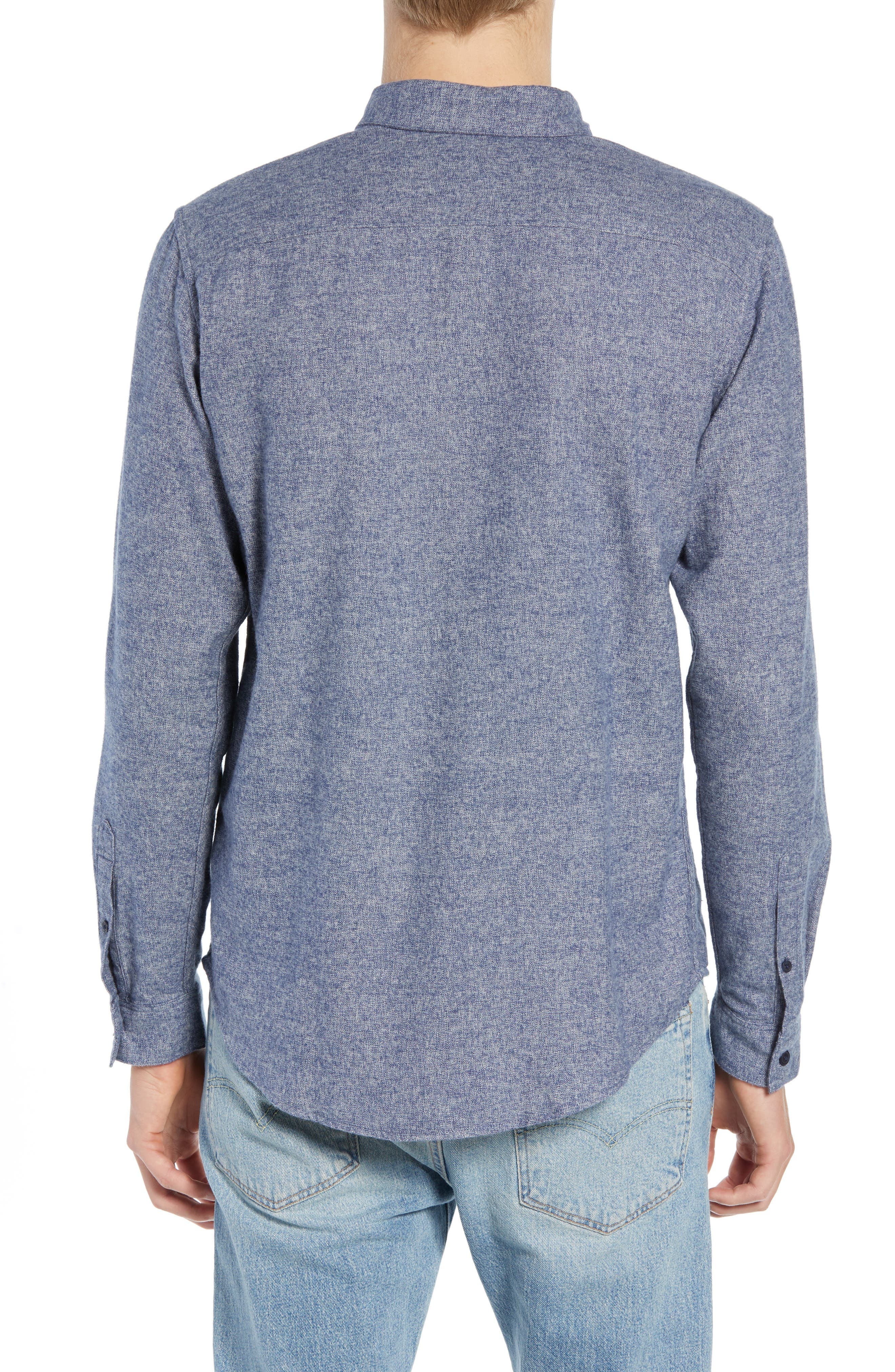 Levi's<sup>®</sup> Made & Crafted Standard Regular Fit Twill Shirt,                             Alternate thumbnail 3, color,                             400