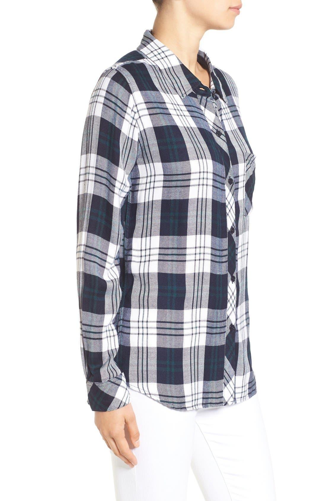 Hunter Plaid Shirt,                             Alternate thumbnail 522, color,