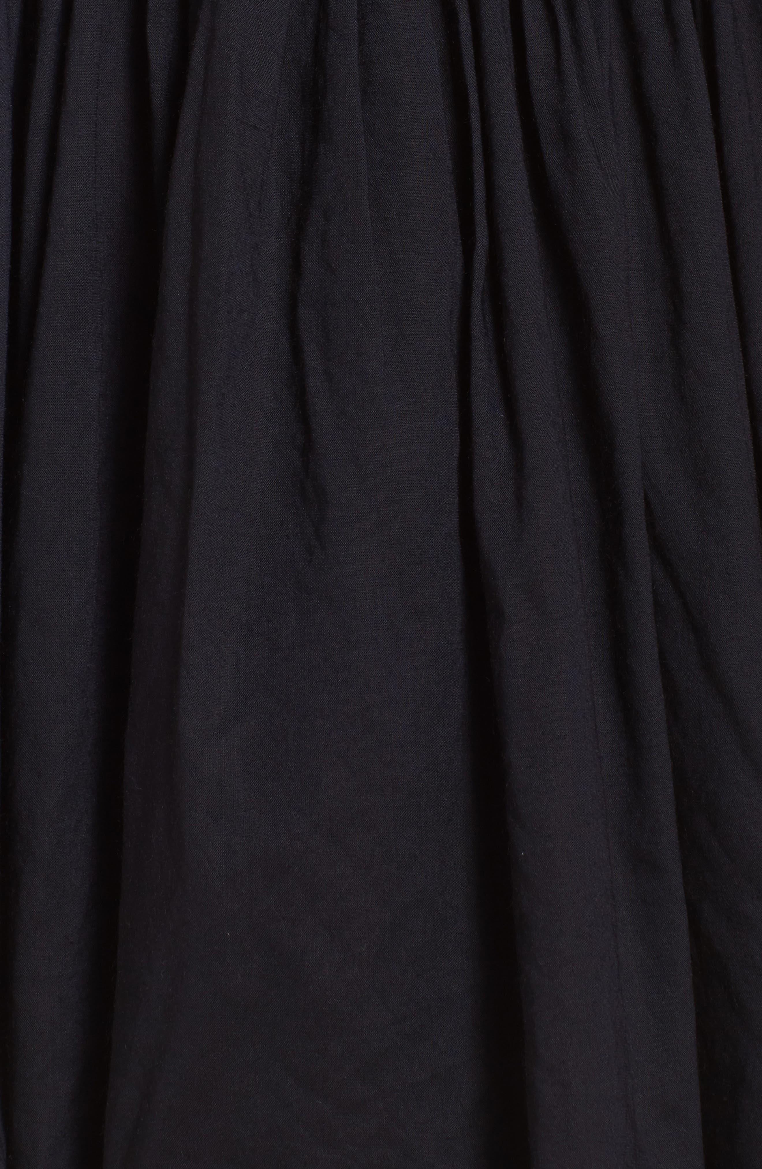 Celeste Cover-Up Dress,                             Alternate thumbnail 5, color,                             001