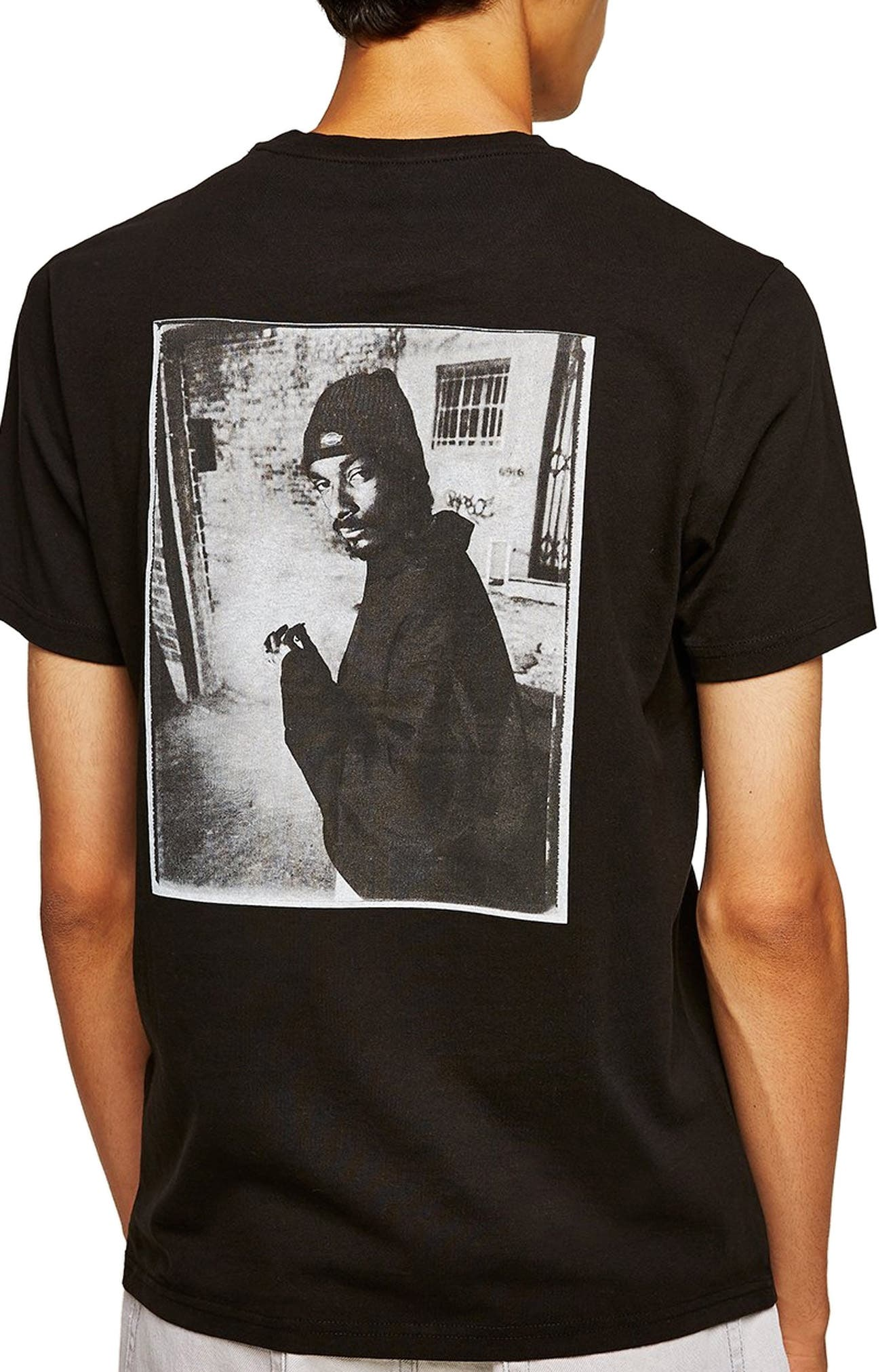 Snoop Dogg T-Shirt,                             Alternate thumbnail 2, color,                             001