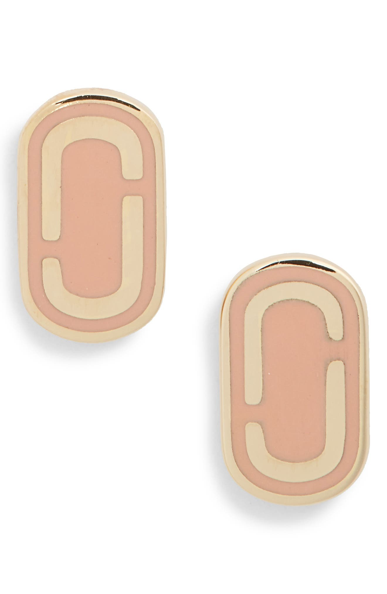 Icon Enamel Stud Earrings,                             Main thumbnail 3, color,