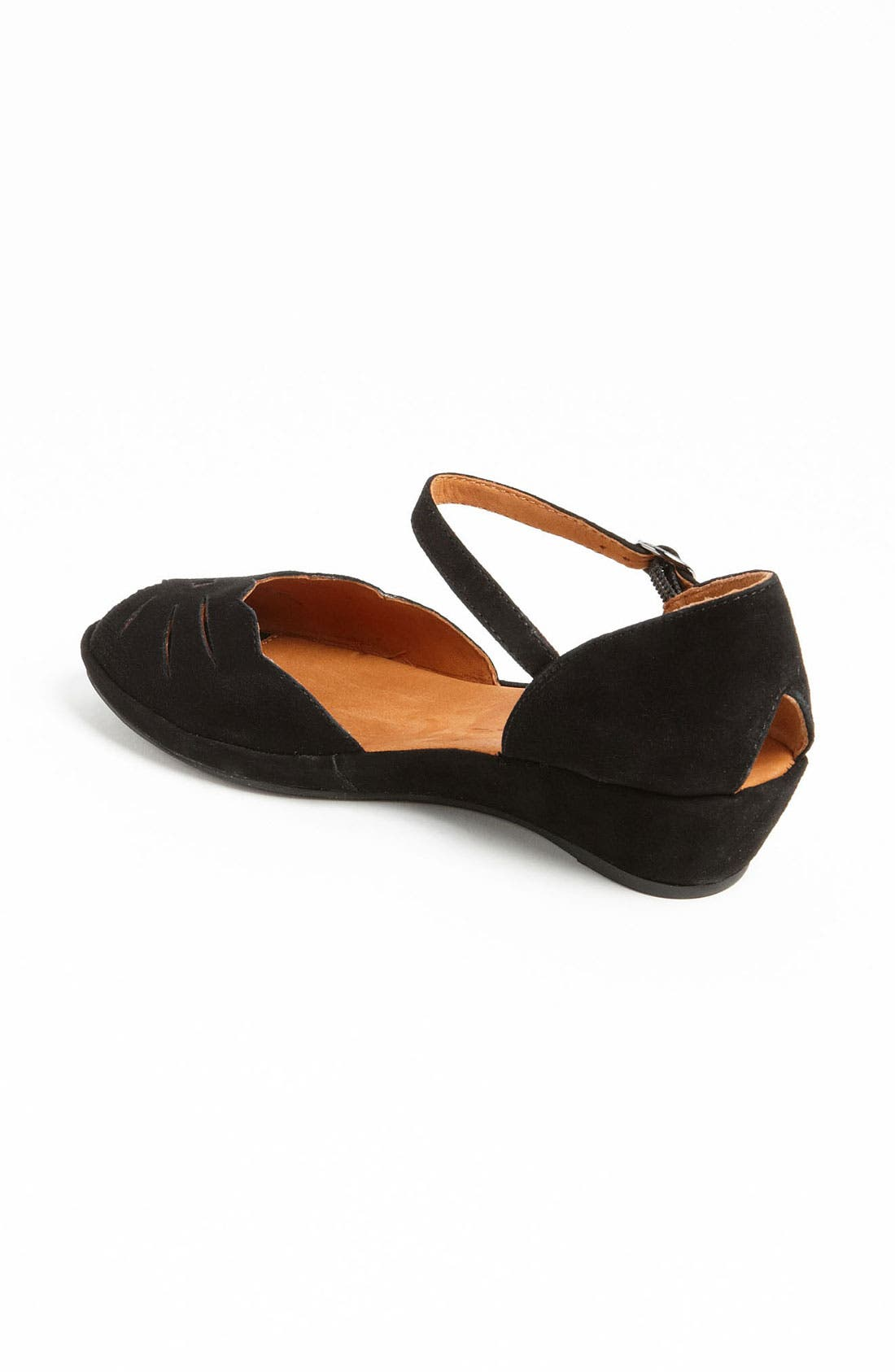 by Kenneth Cole 'Lily Moon' Sandal,                             Alternate thumbnail 4, color,                             BLACK