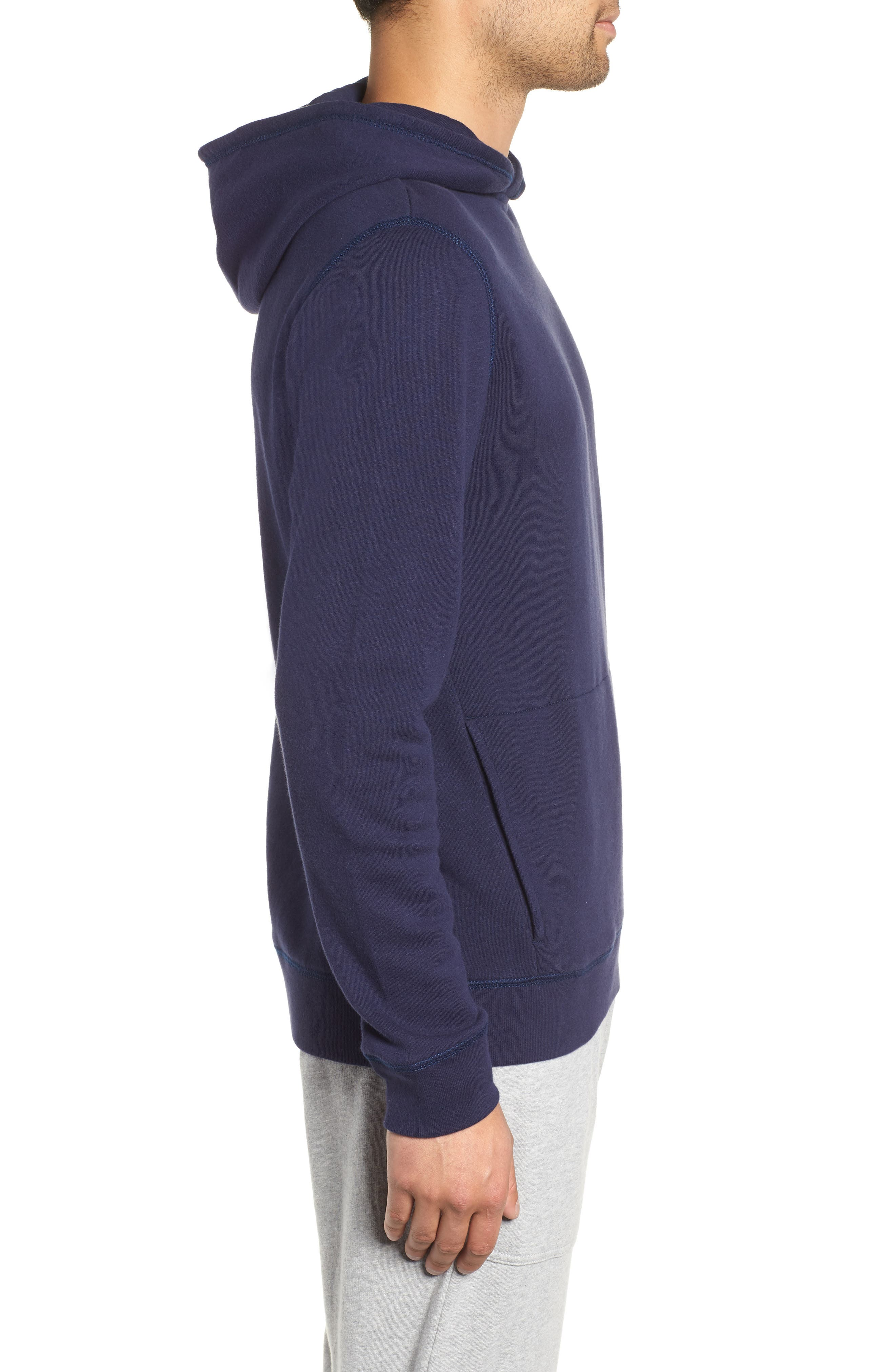 THE RAIL,                             Hooded Sweatshirt,                             Alternate thumbnail 3, color,                             410