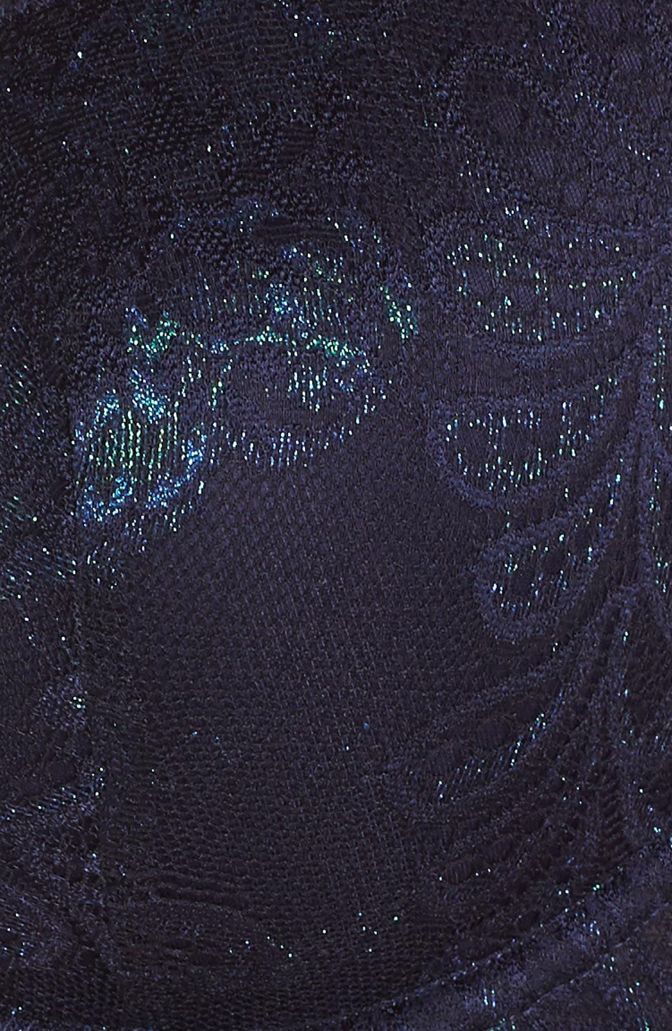 'Sophia'  Lace Underwire Bra,                             Alternate thumbnail 6, color,                             SAPPHIRE