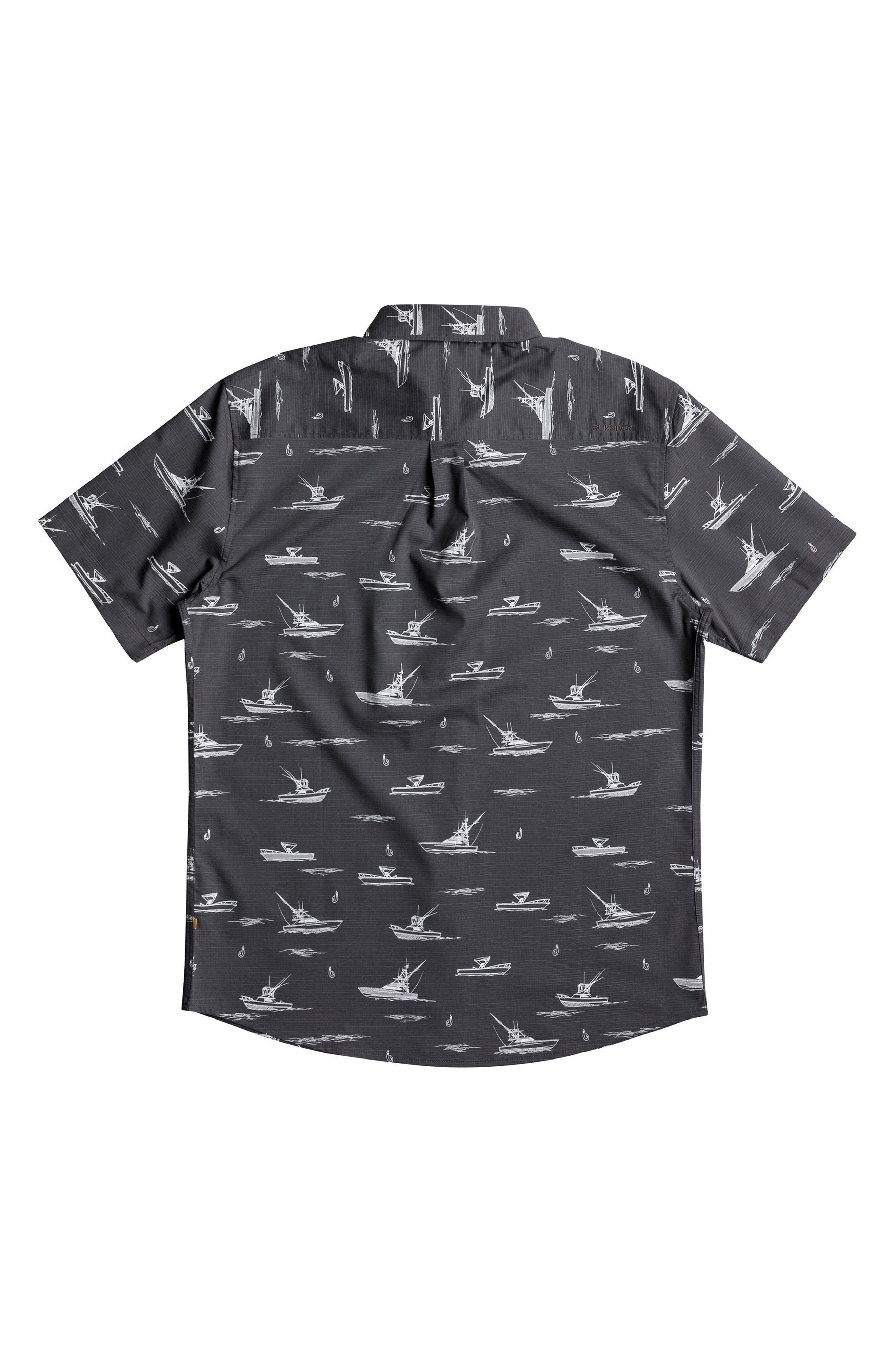 Fishboats Sport Shirt,                             Main thumbnail 1, color,                             008