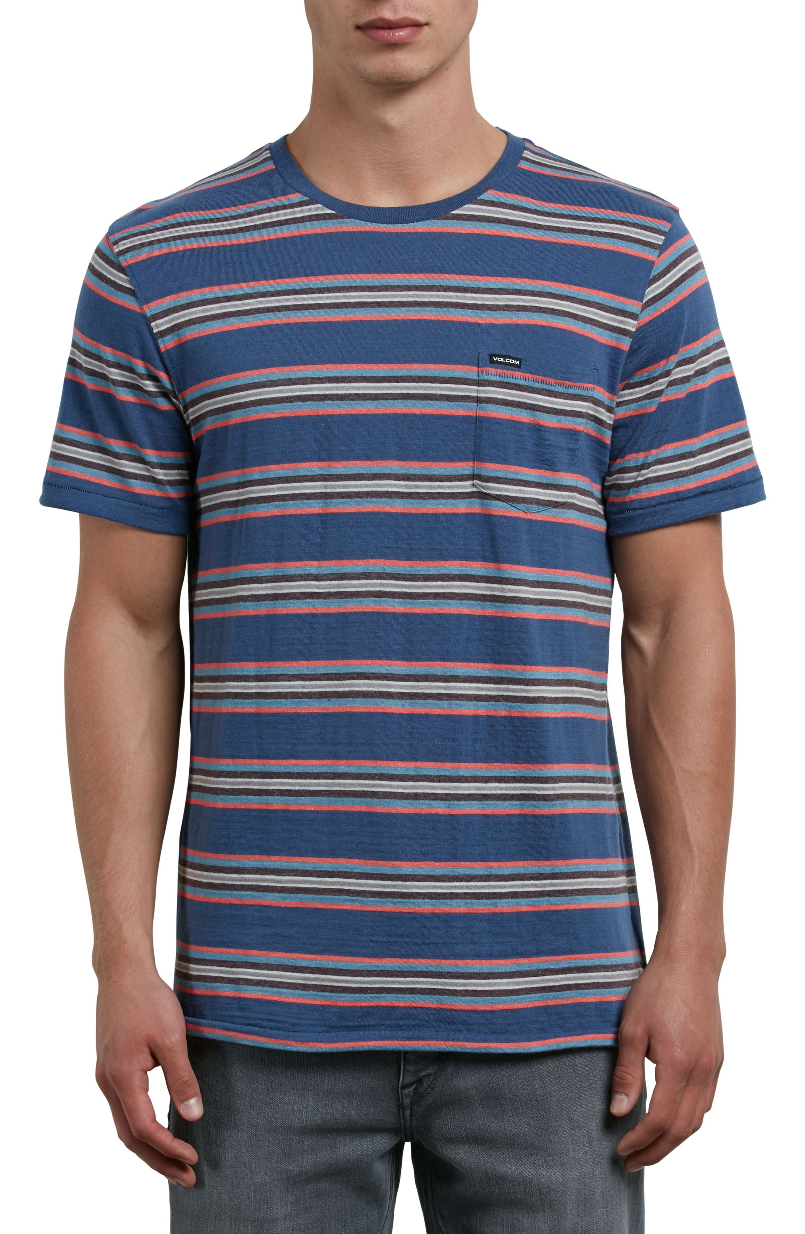 Belfast Stripe Pocket T-Shirt,                             Main thumbnail 3, color,