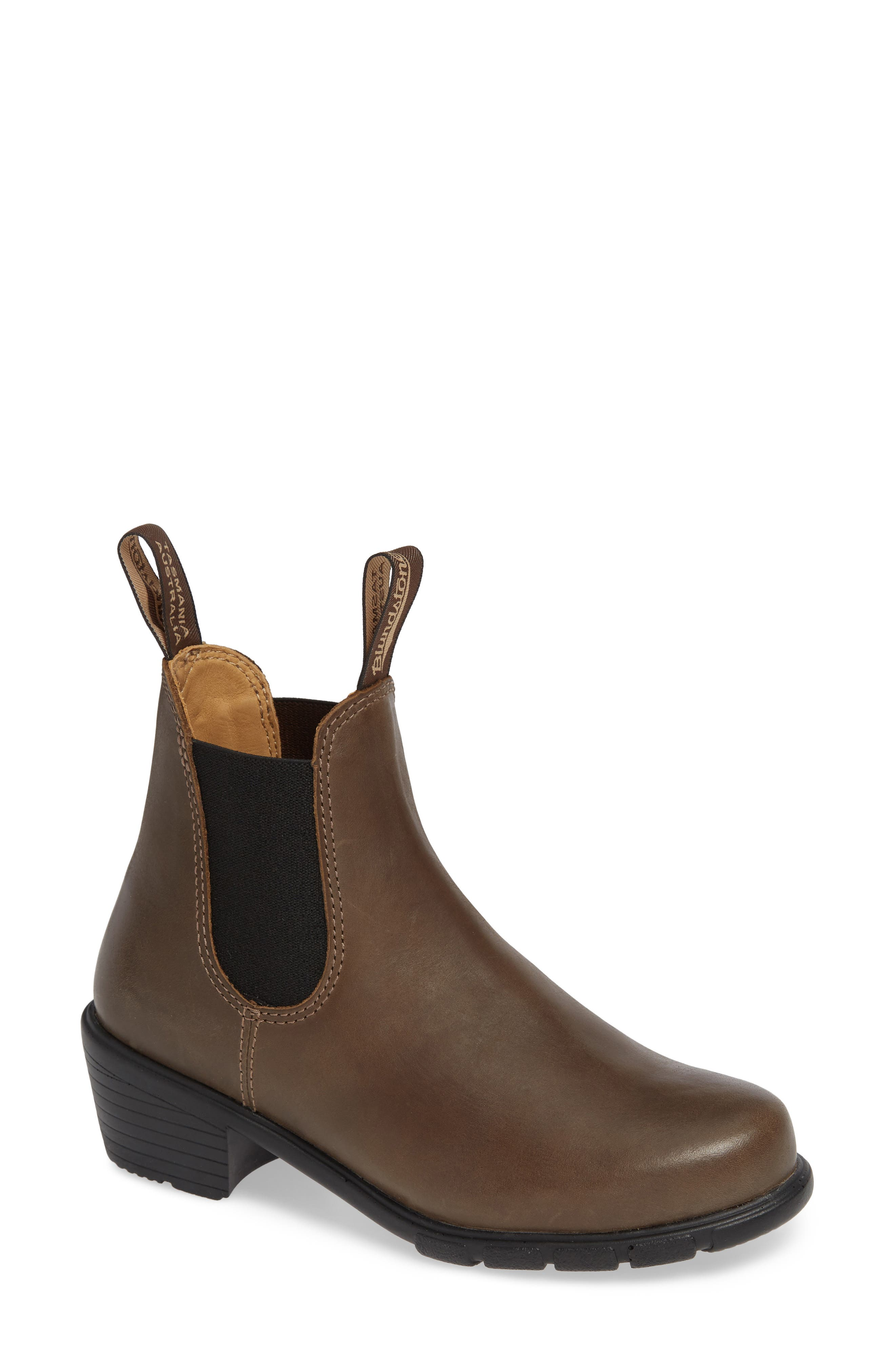BLUNDSTONE 1671 Chelsea Boot in Antique Taupe Leather