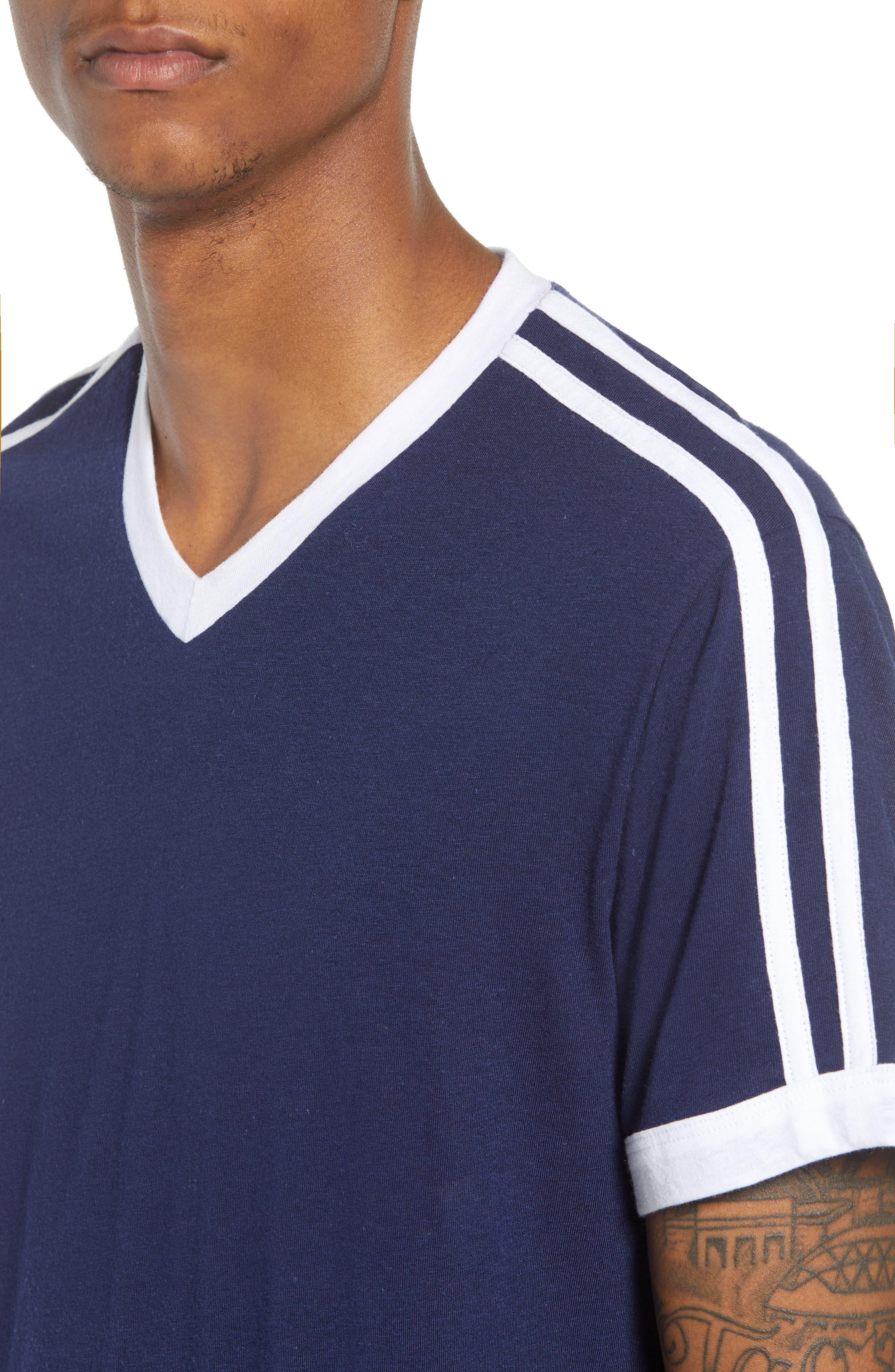 Vintage Athletic V-Neck T-Shirt,                             Alternate thumbnail 4, color,                             410