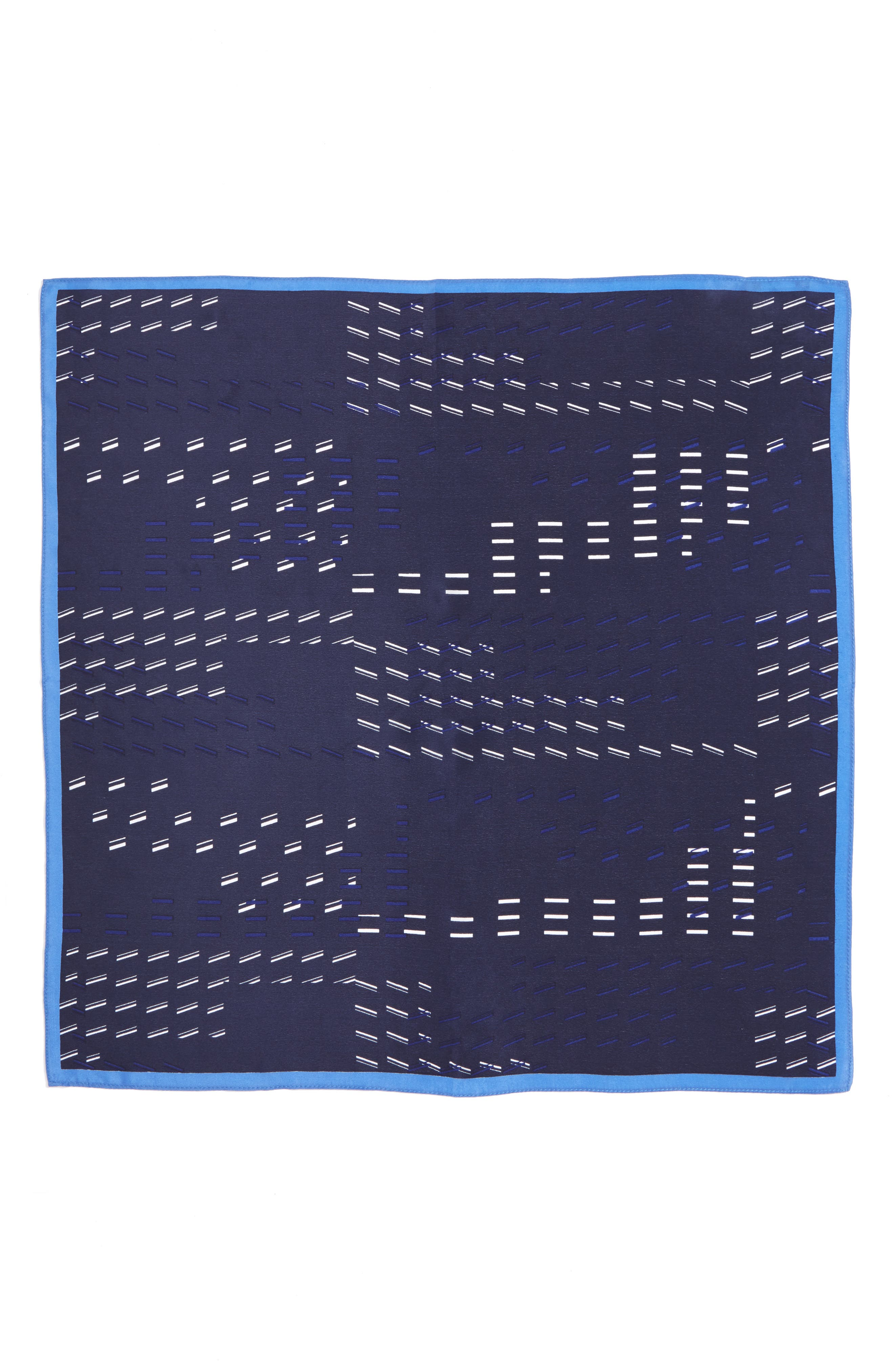 Square Silk Scarf,                             Alternate thumbnail 2, color,                             410