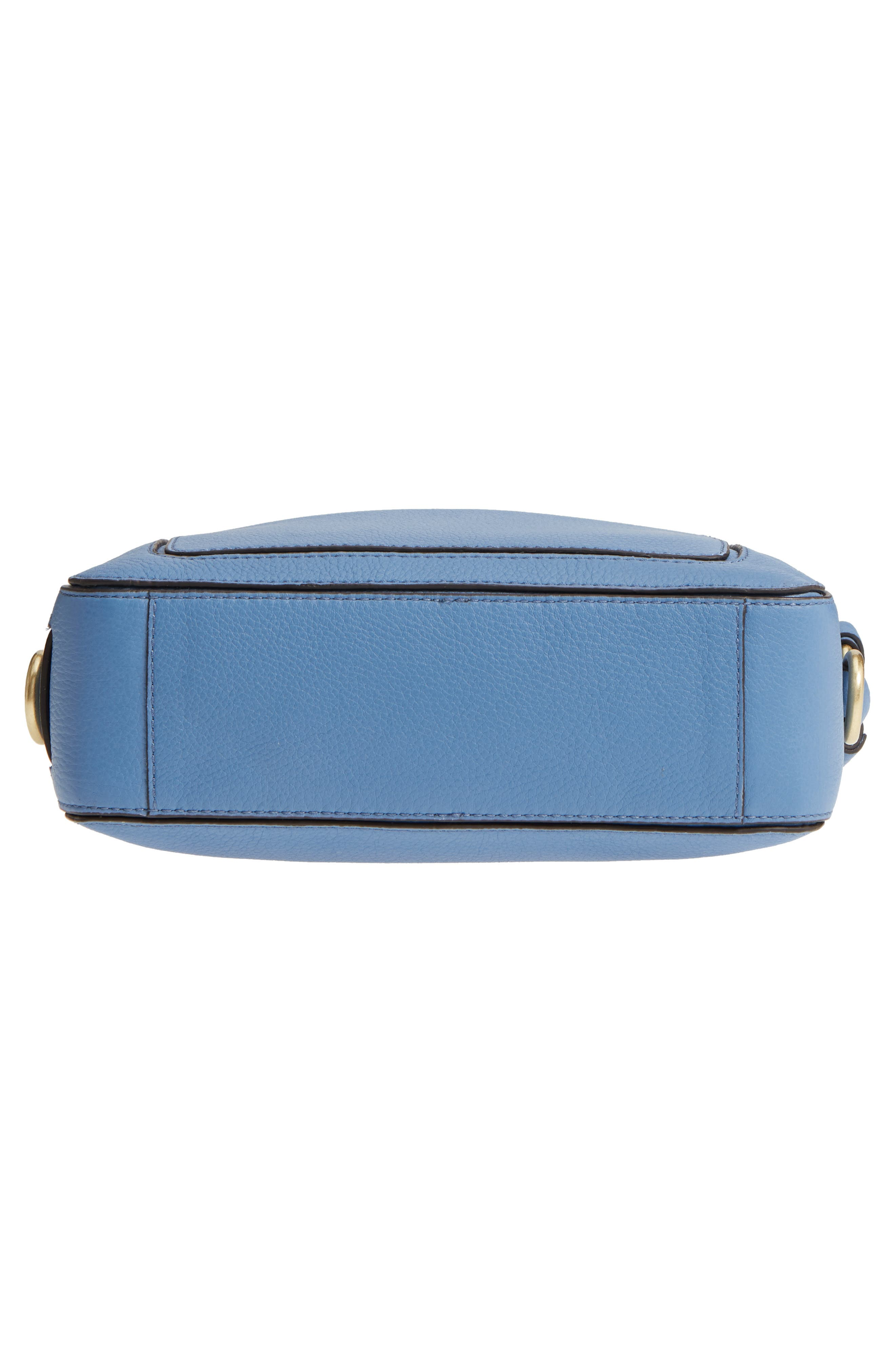 Cassidy RFID Pebbled Leather Camera Bag,                             Alternate thumbnail 24, color,