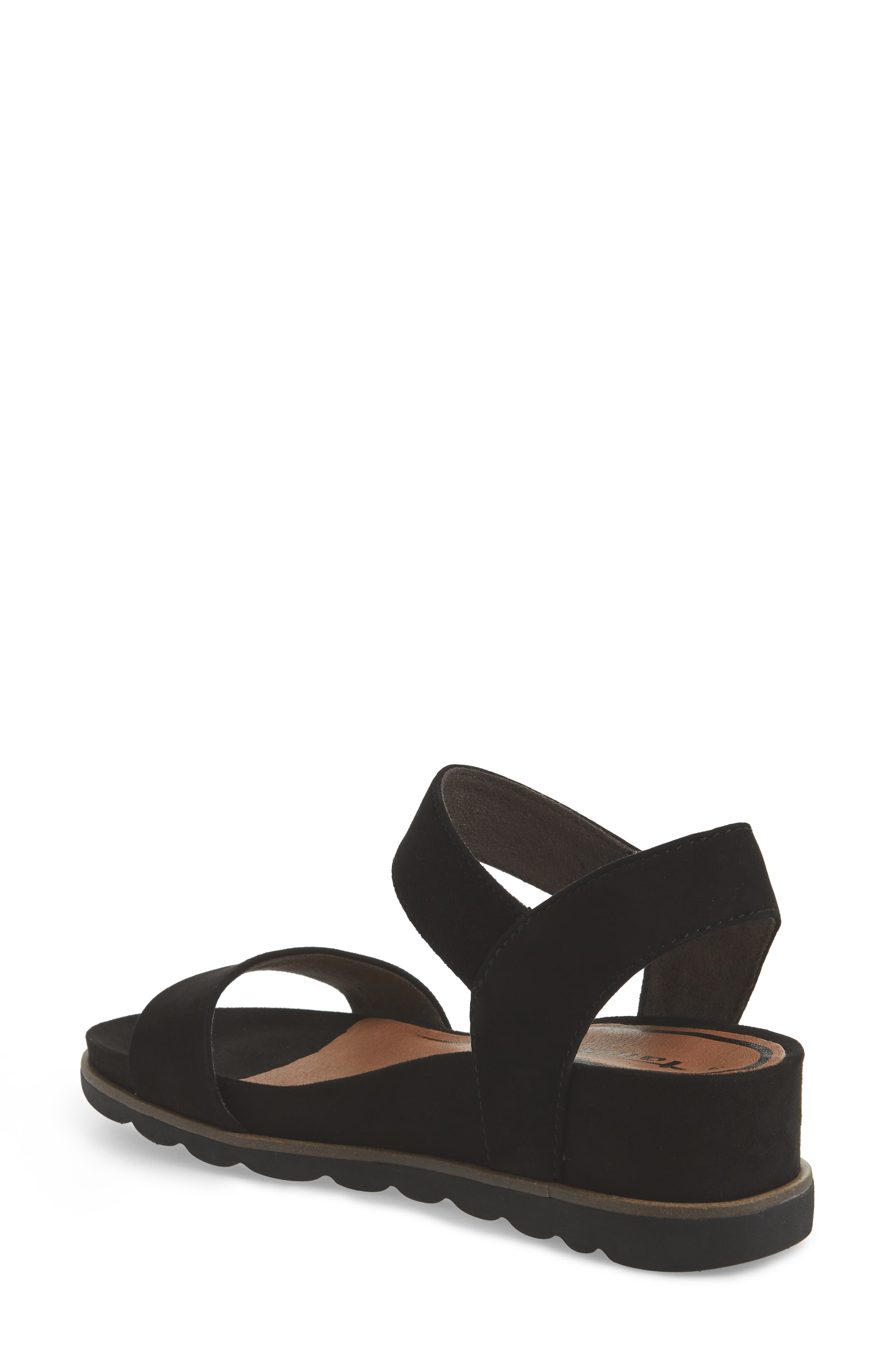 Cory Wedge Sandal,                             Alternate thumbnail 4, color,