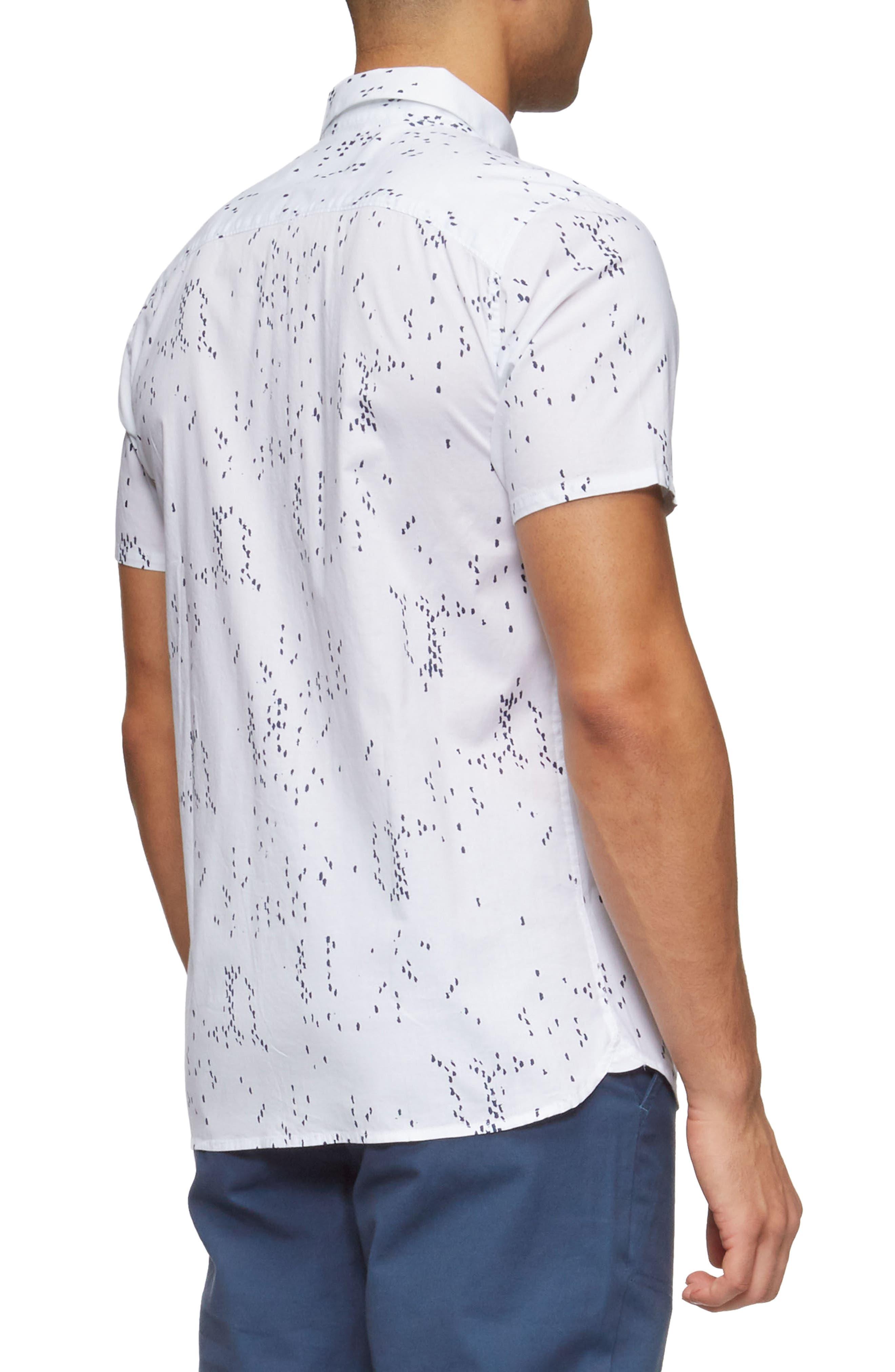 Bowery Short Sleeve Shirt,                             Alternate thumbnail 6, color,