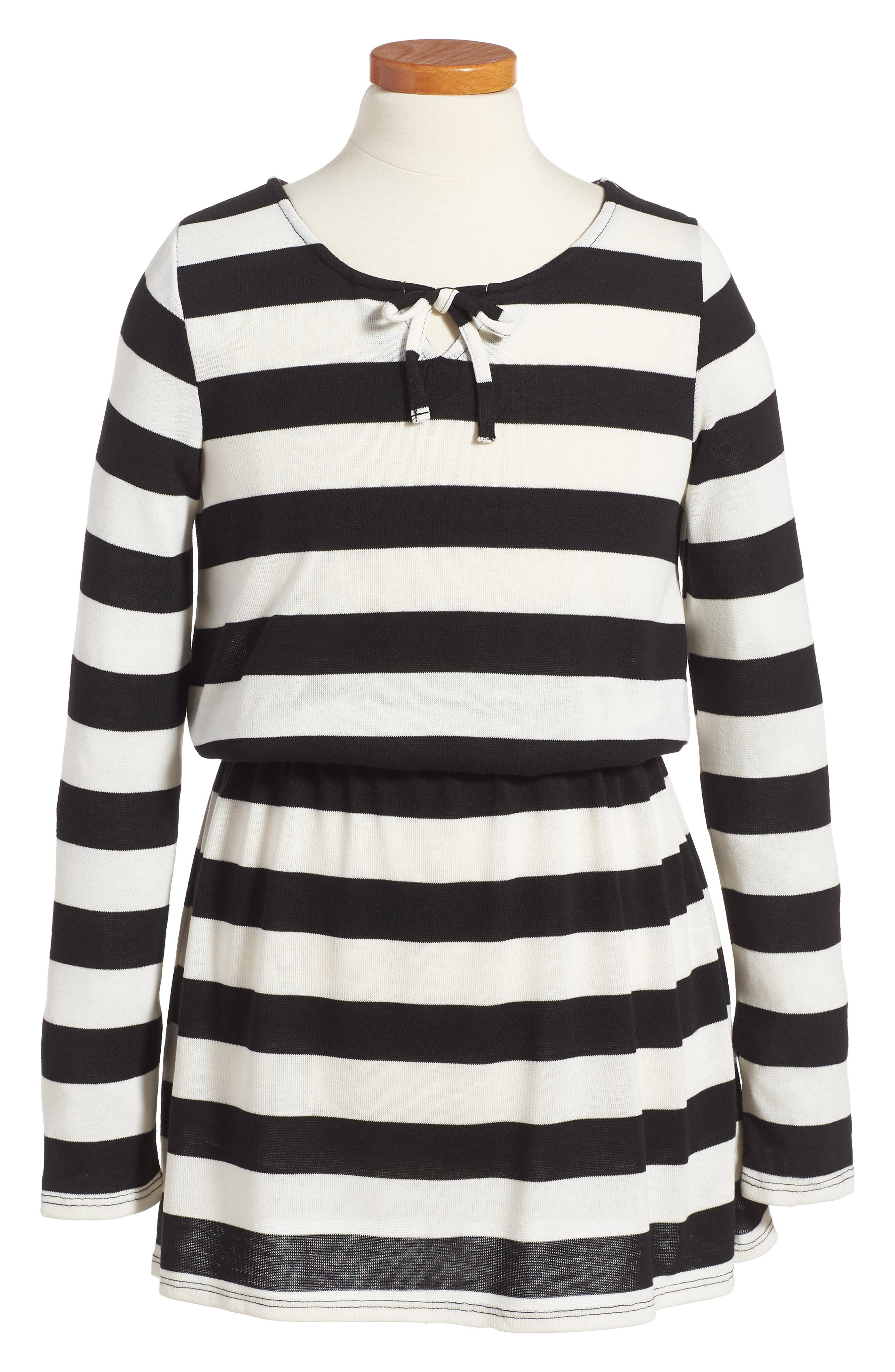 Stripe Dress,                             Main thumbnail 1, color,                             010