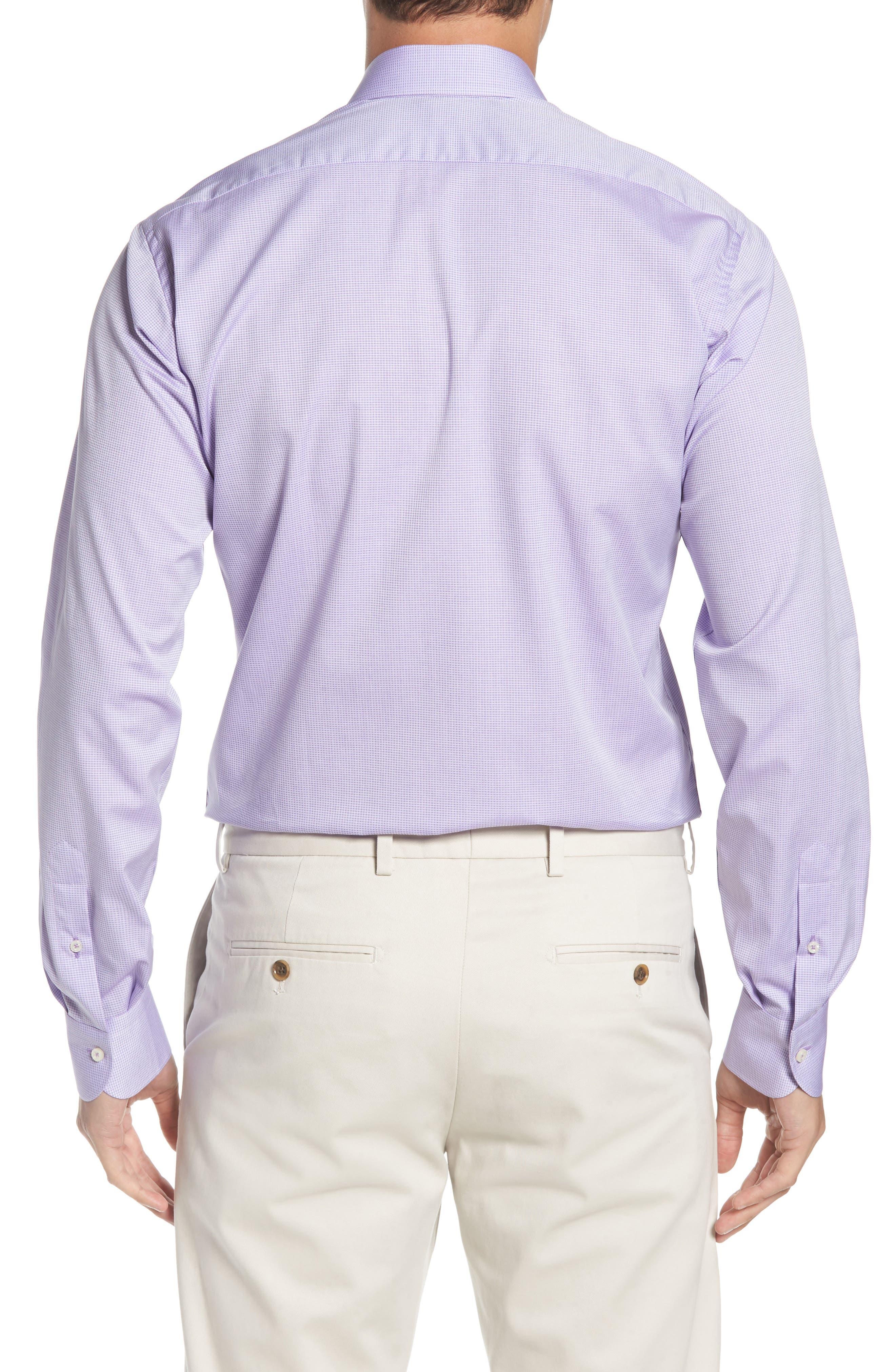 Regular Fit Solid Dress Shirt,                             Alternate thumbnail 3, color,                             500