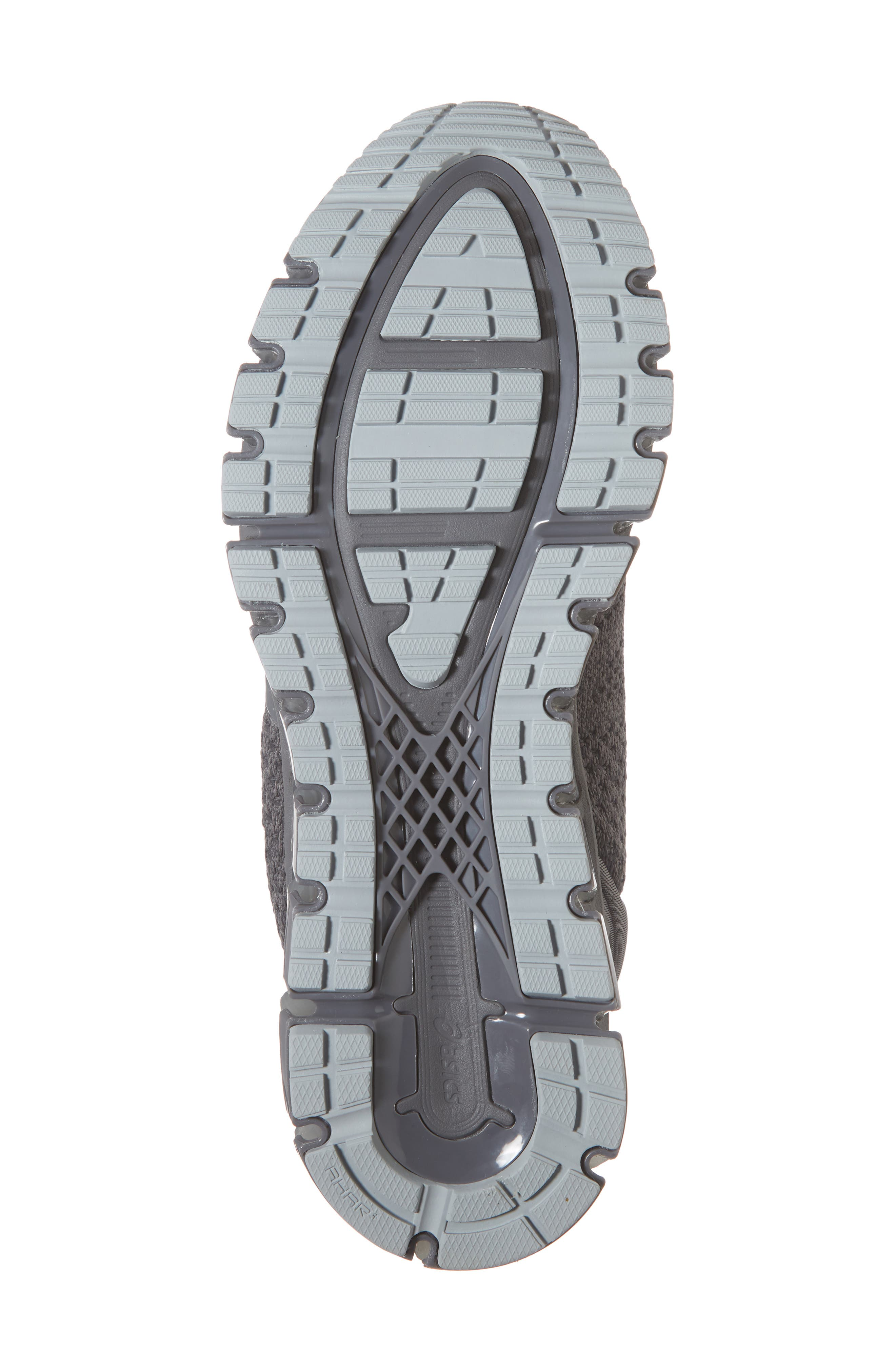 GEL-Quantum 360 Running Shoe,                             Alternate thumbnail 6, color,                             CARBON/ DARK GREY