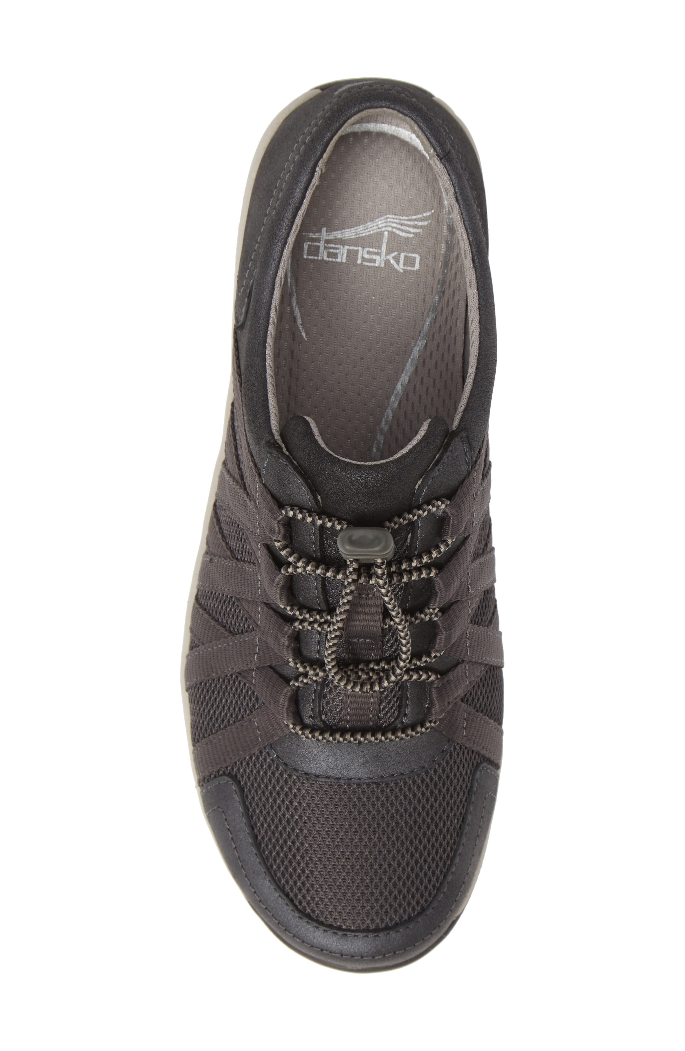 Halifax Collection Honor Sneaker,                             Alternate thumbnail 5, color,                             CHARCOAL/ CHARCOAL SUEDE