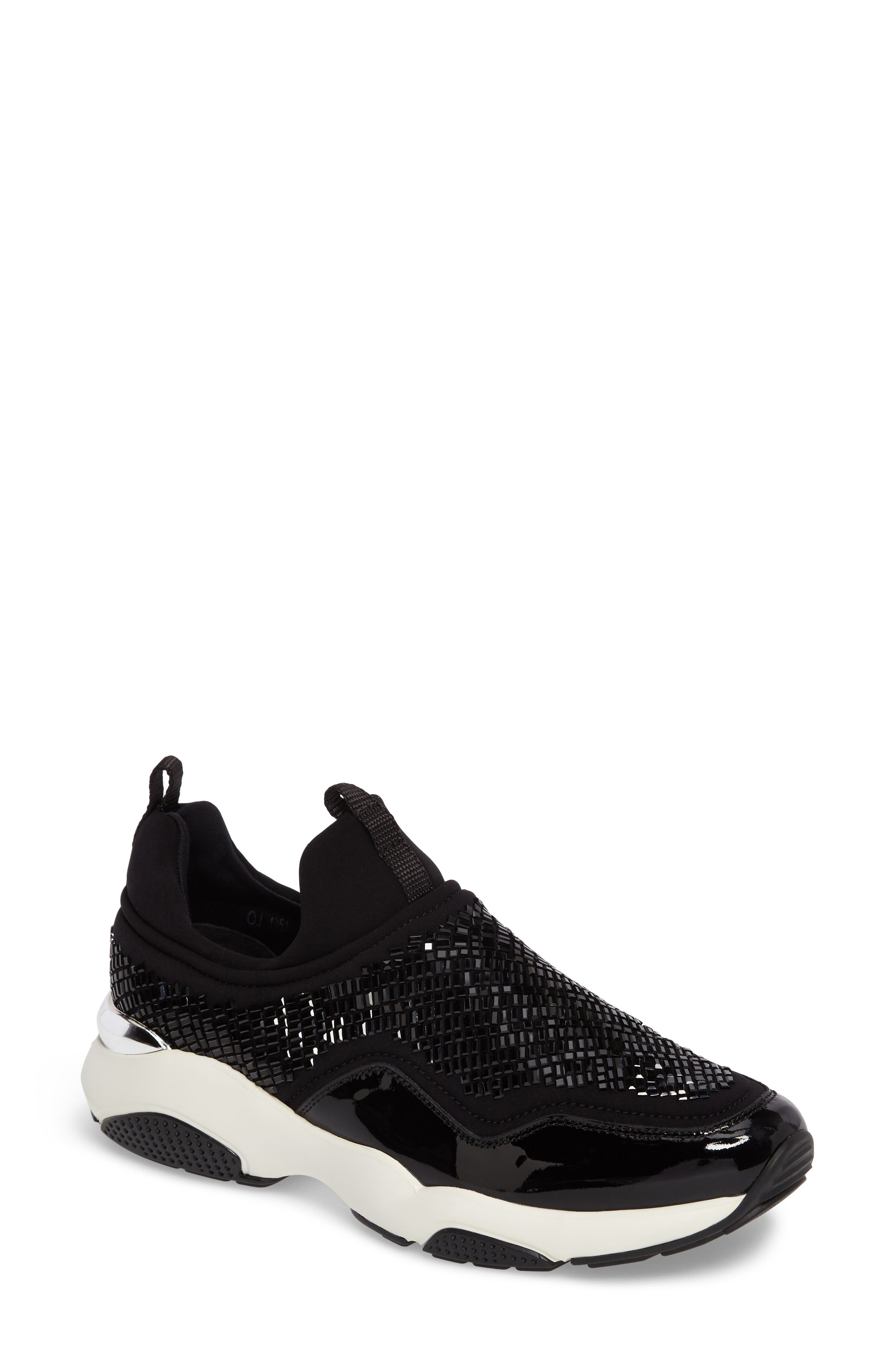 Salvatore Ferragmo Giolly Slip-On Sneaker,                         Main,                         color, 001