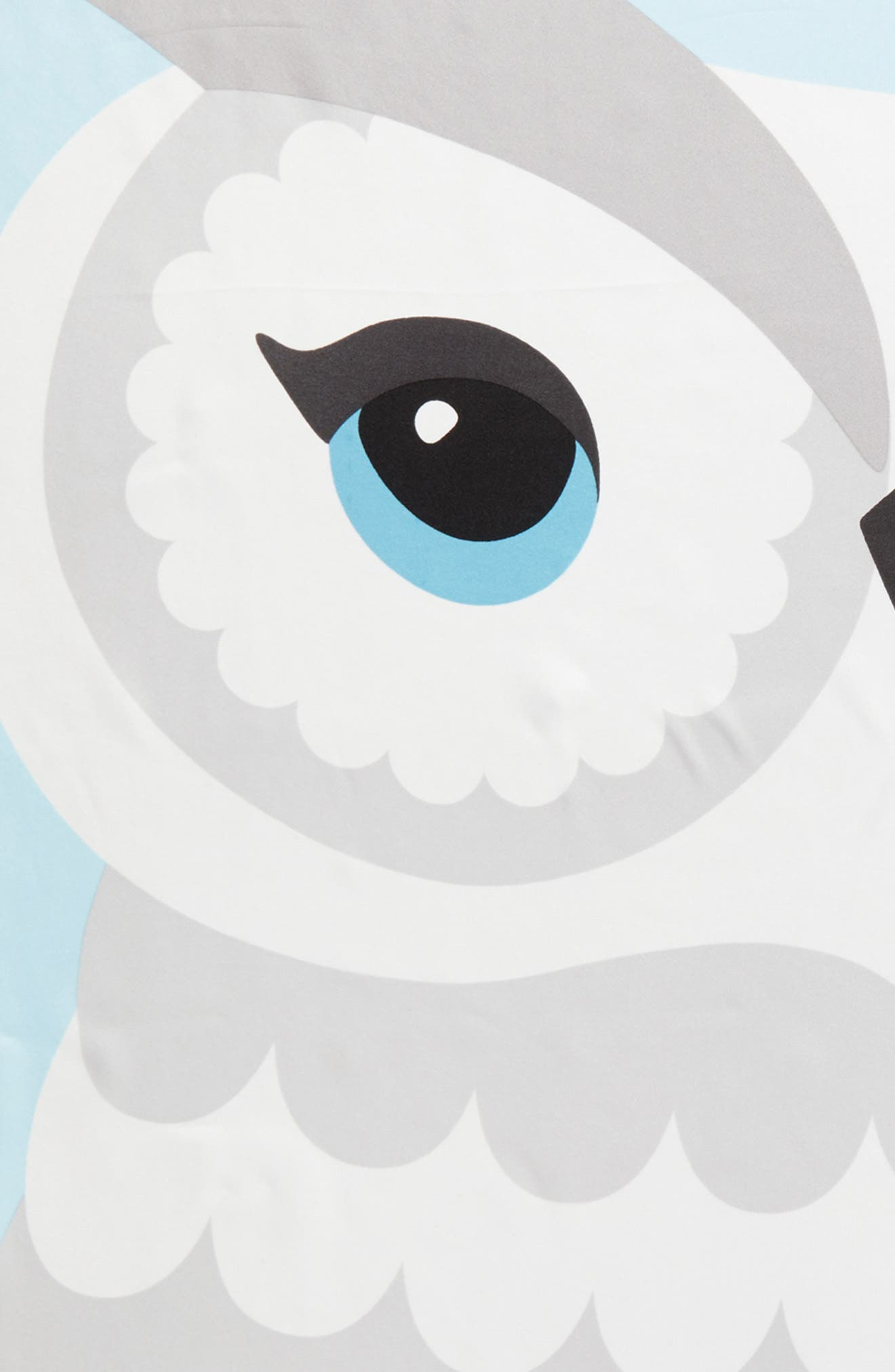 owl silk square scarf,                             Alternate thumbnail 4, color,                             900