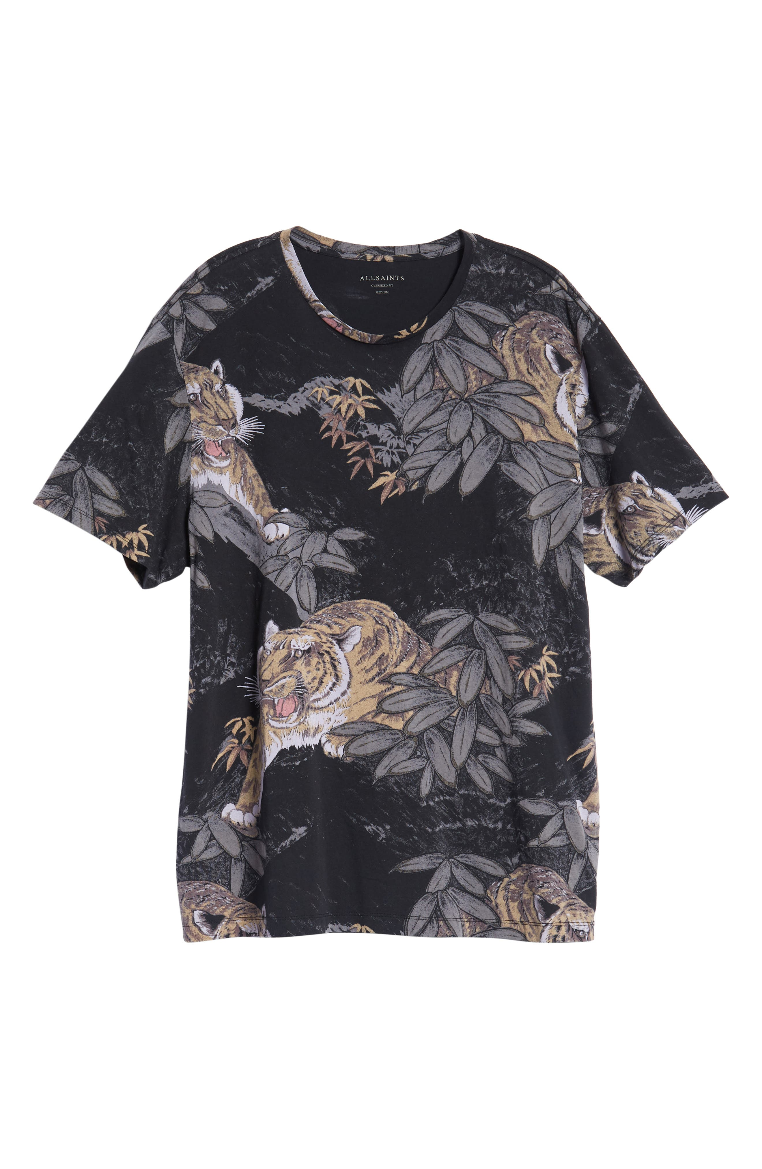 Chokai Slim Fit T-Shirt,                             Alternate thumbnail 6, color,                             VINTAGE BLACK