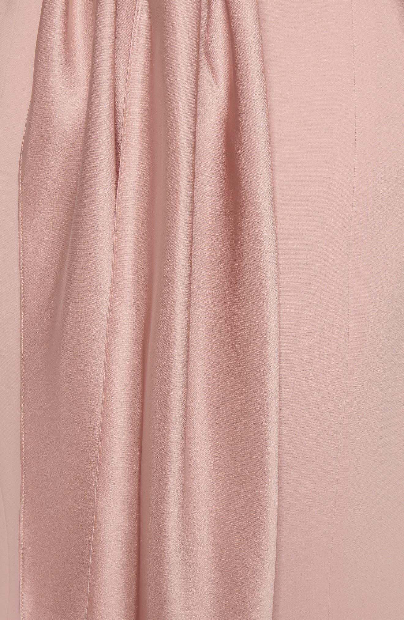 Paloma Fit & Flare Dress,                             Alternate thumbnail 6, color,                             563