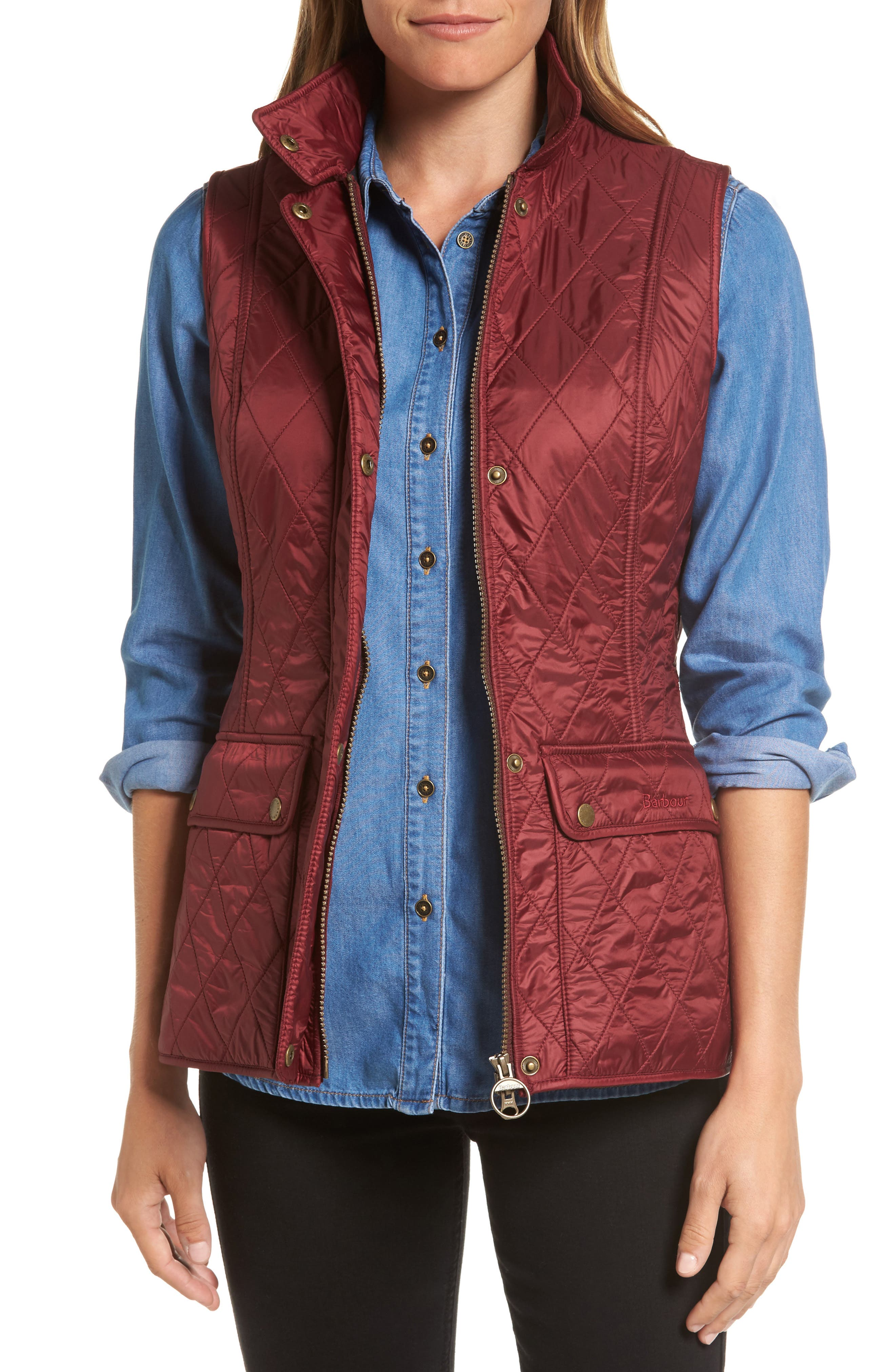 Wray Water Resistant Quilted Gilet,                             Main thumbnail 3, color,