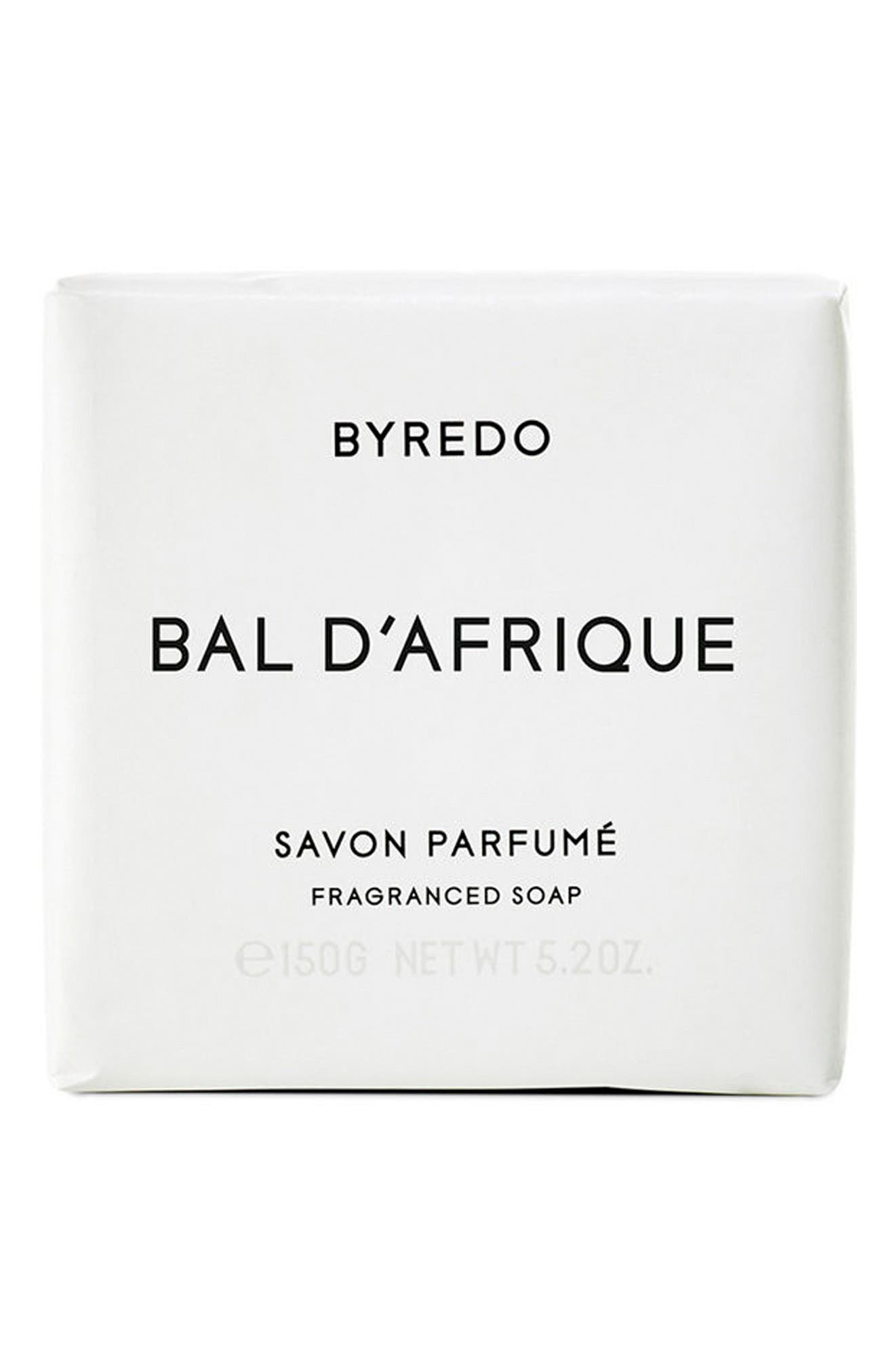 Bal d'Afrique Soap Bar,                             Main thumbnail 1, color,                             000