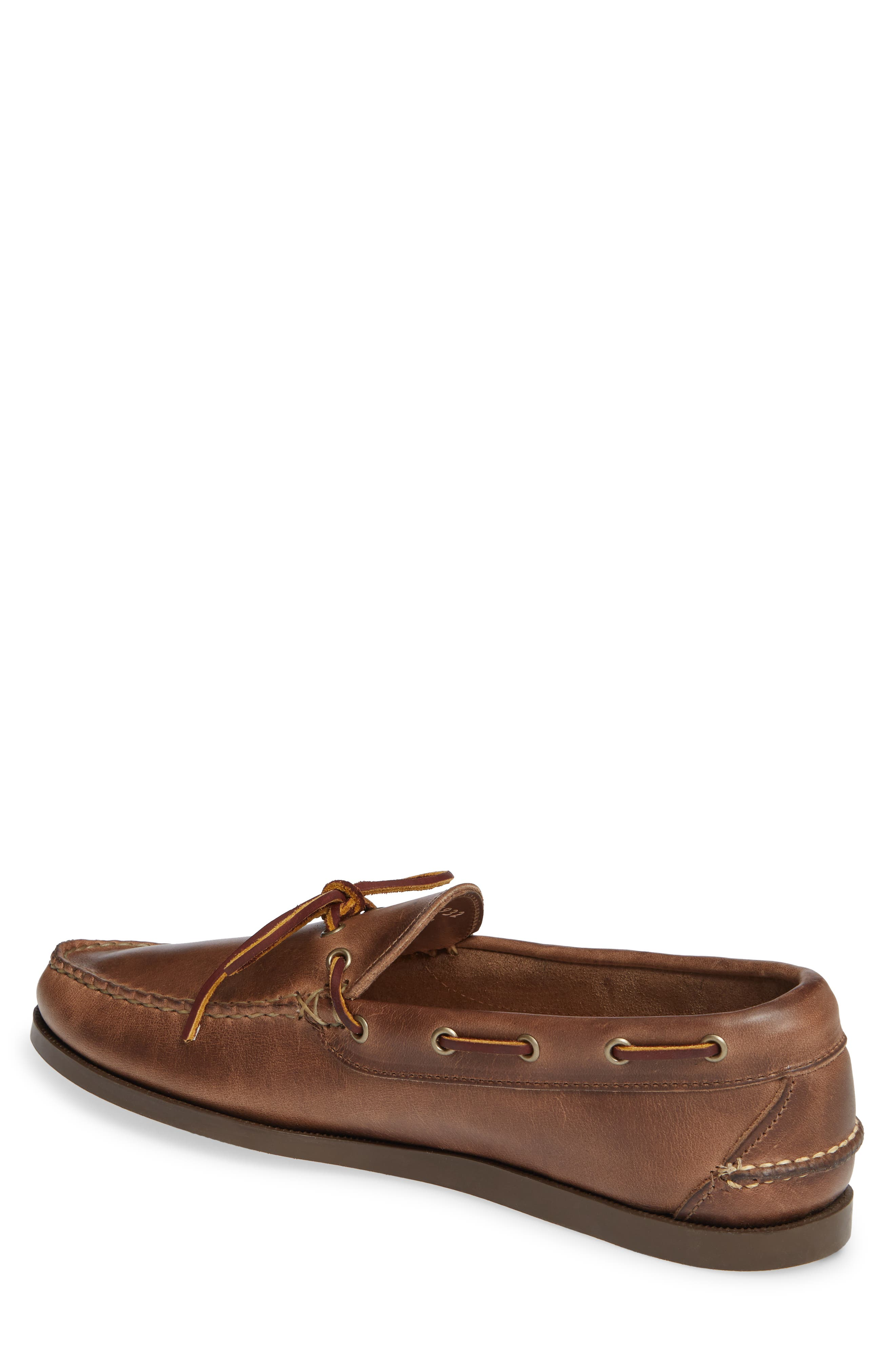 Camp Moccasin,                             Alternate thumbnail 2, color,                             NATURAL LEATHER