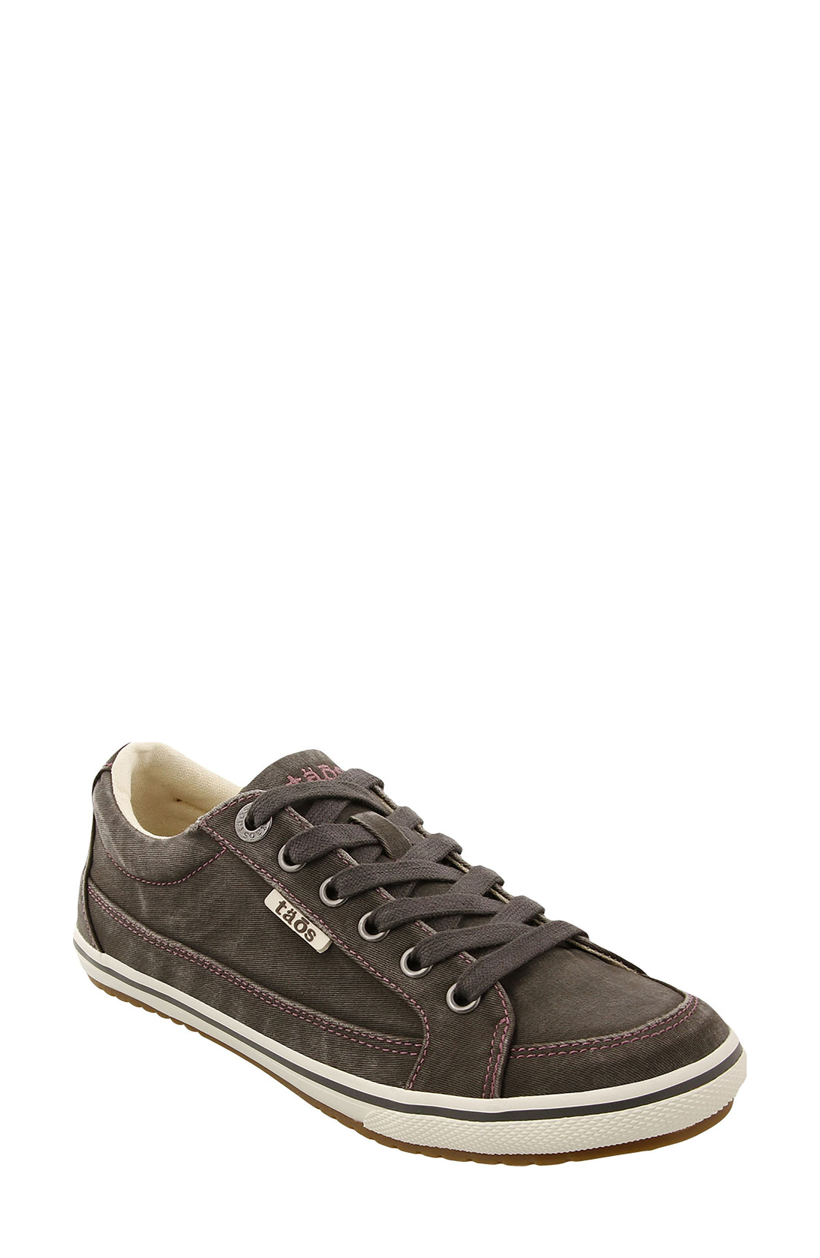 Moc Star Sneaker,                         Main,                         color, GRAPHITE DISTRESSED
