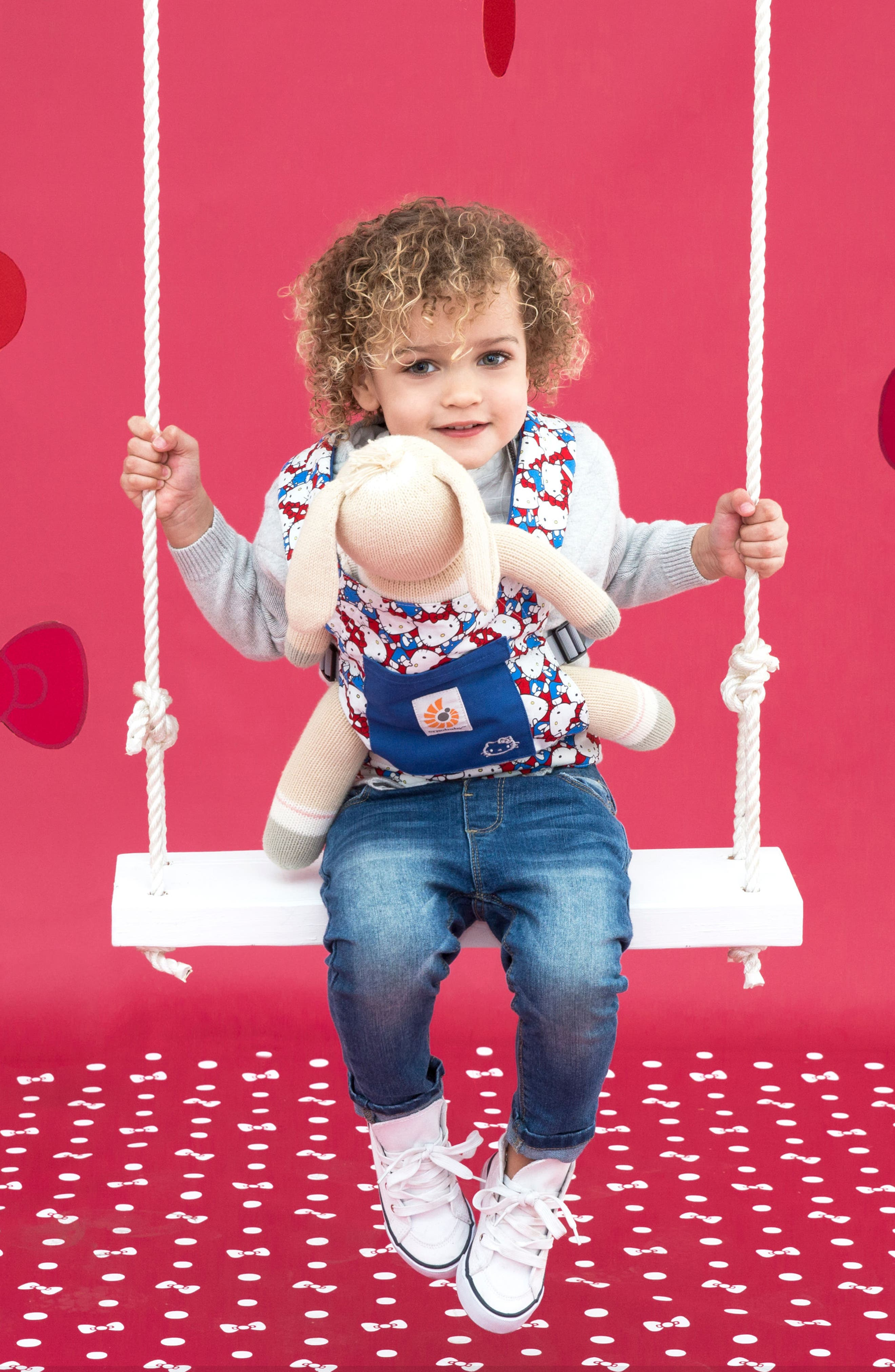 x Hello Kitty<sup>®</sup> Doll Carrier,                             Alternate thumbnail 3, color,                             400