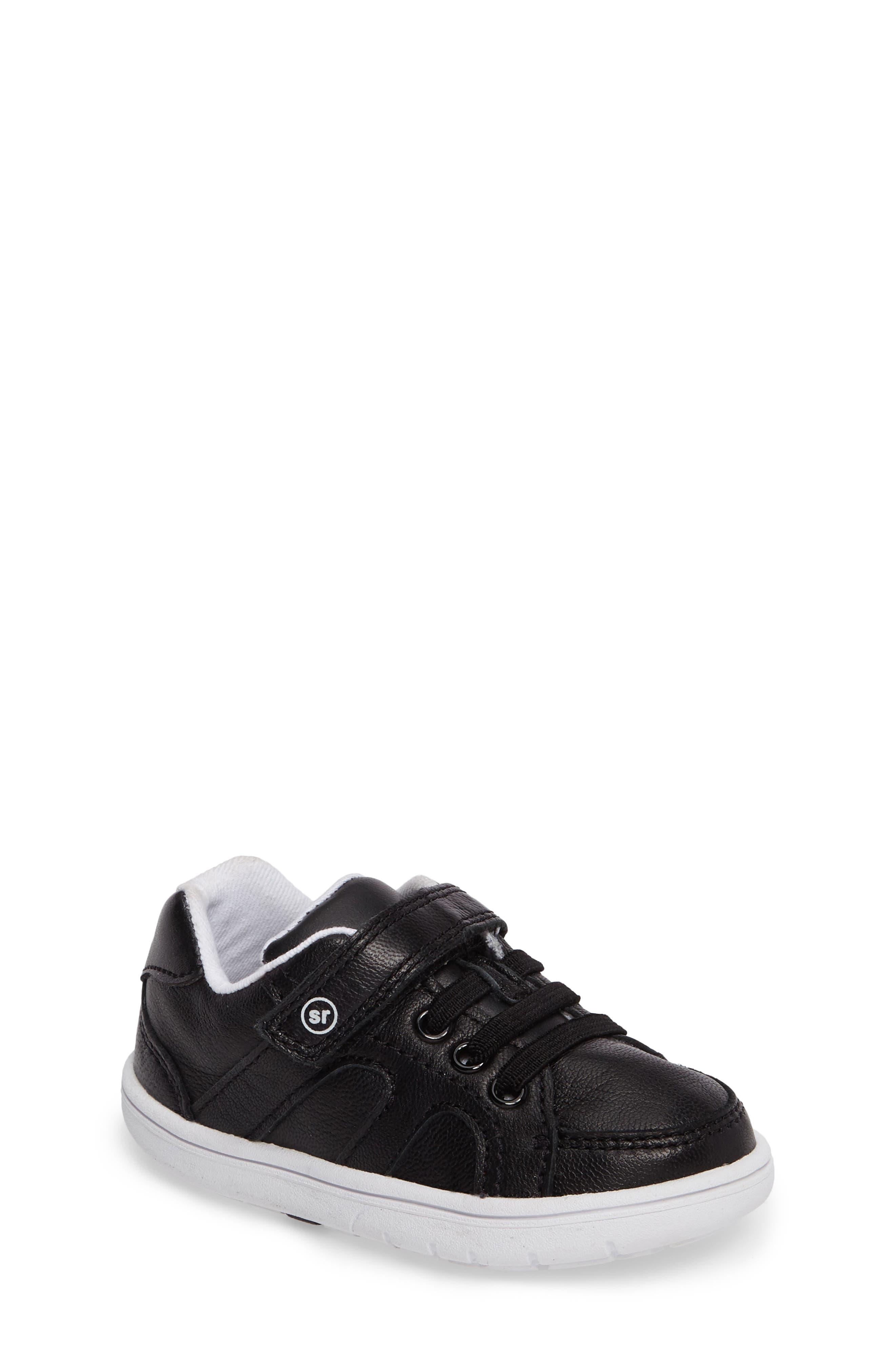 SRT Noe Sneaker,                             Main thumbnail 1, color,                             BLACK