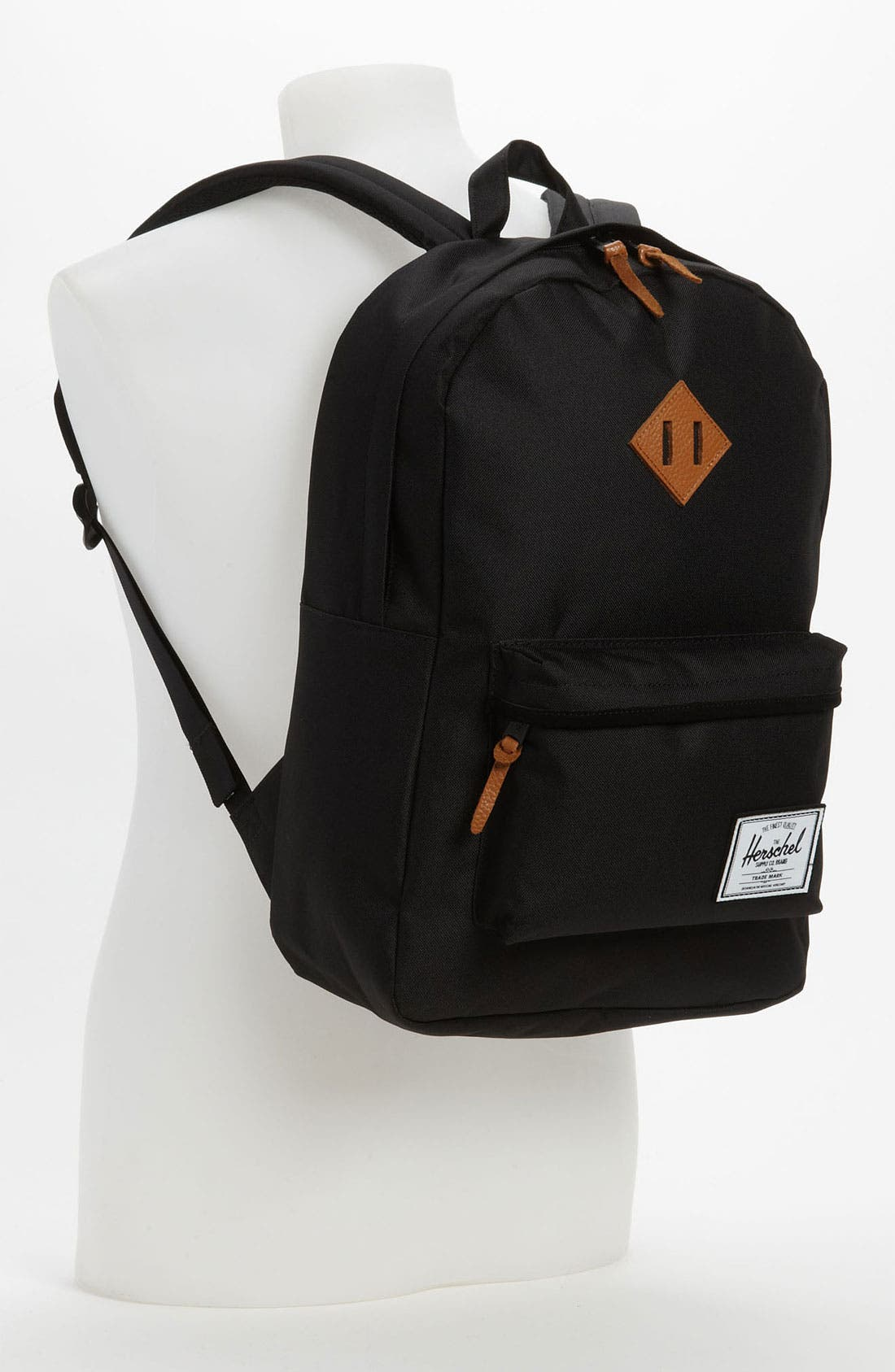 HERSCHEL SUPPLY CO.,                             'Heritage Plus' Backpack,                             Alternate thumbnail 3, color,                             001