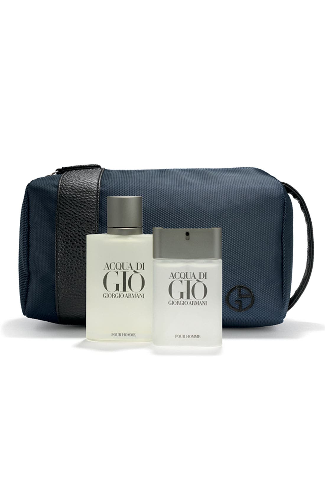 Acqua di Giò pour Homme 'Travel with Style' Set,                             Main thumbnail 1, color,                             000
