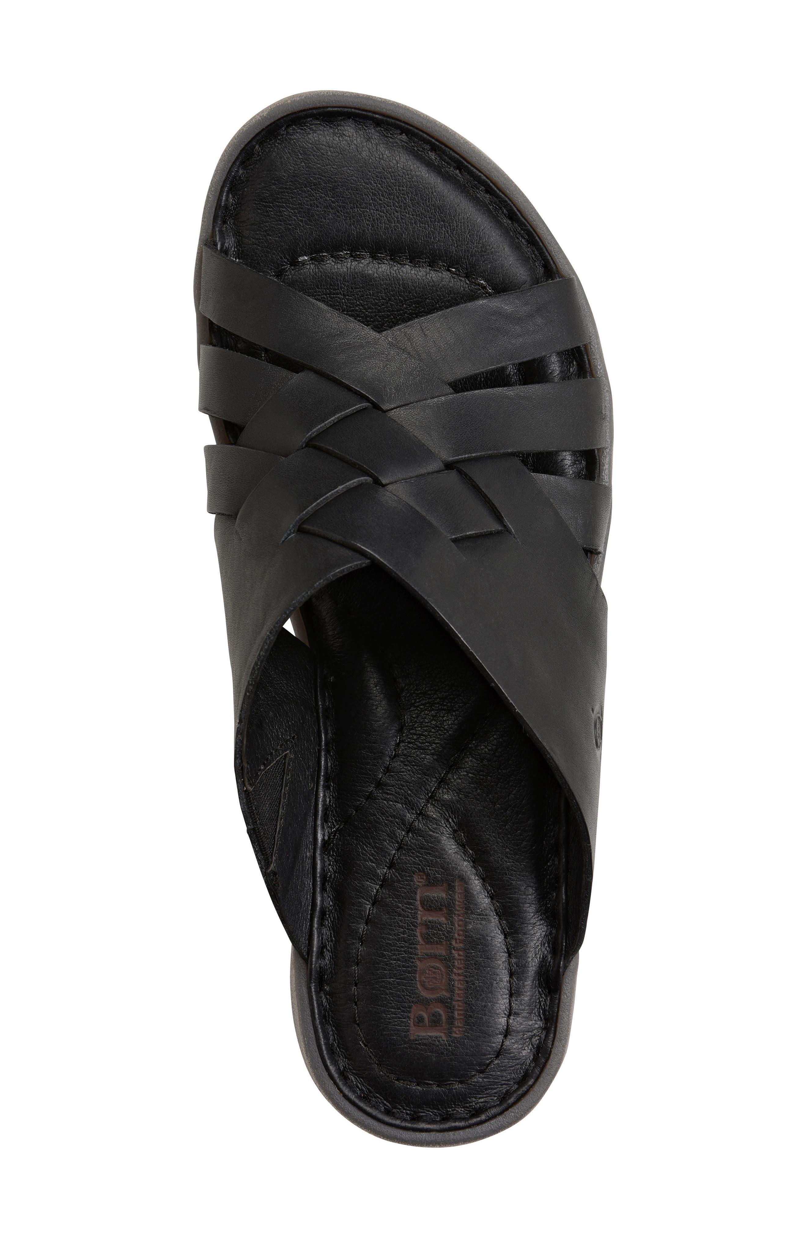 Tarpon Slide Sandal,                             Alternate thumbnail 5, color,                             001