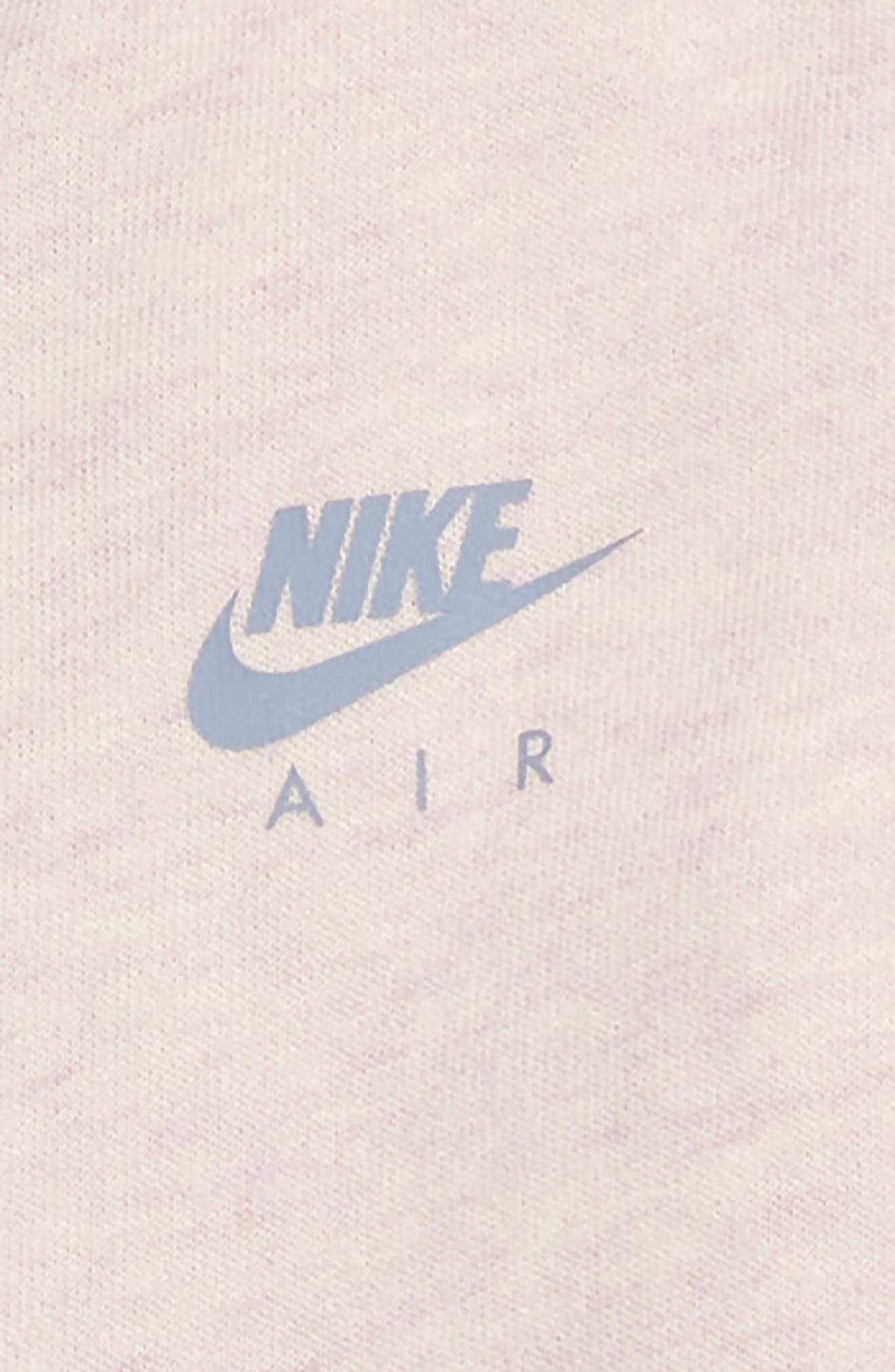 Air Zip Hoodie & Pants Set,                             Alternate thumbnail 2, color,                             ASHEN SLATE
