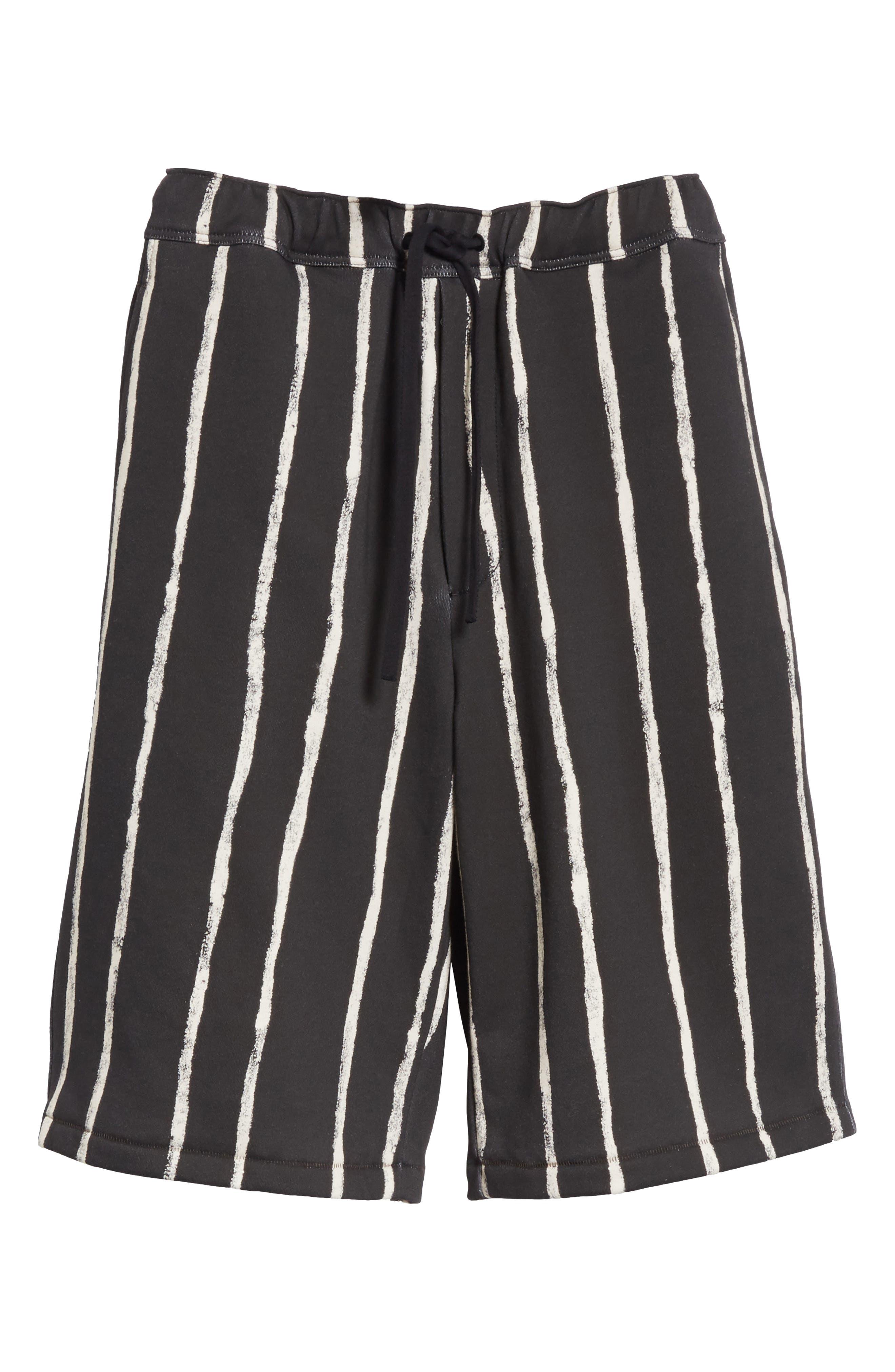 Striped Paint Shorts,                             Alternate thumbnail 6, color,                             001
