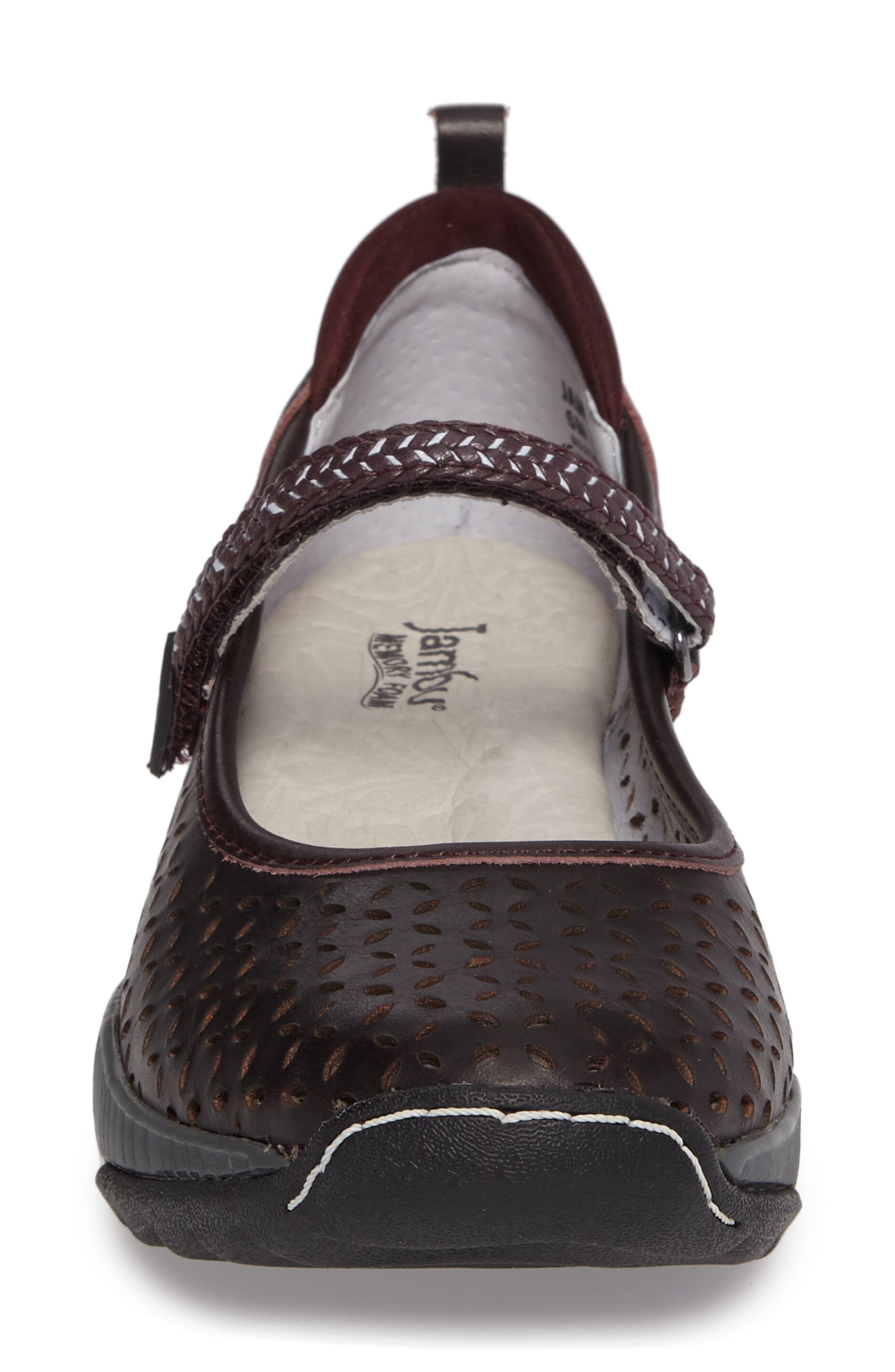 Bailey Perforated Mary Jane Sneaker,                             Alternate thumbnail 16, color,