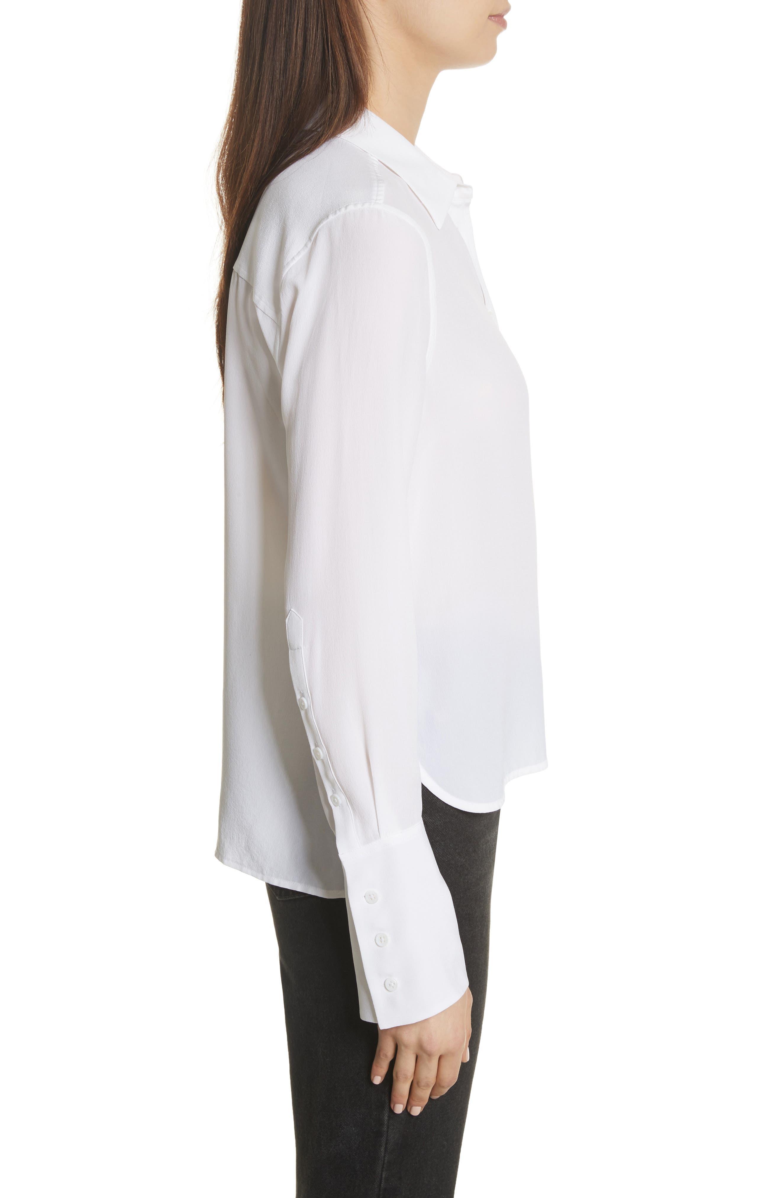 Darla Bell Cuff Shirt,                             Alternate thumbnail 8, color,