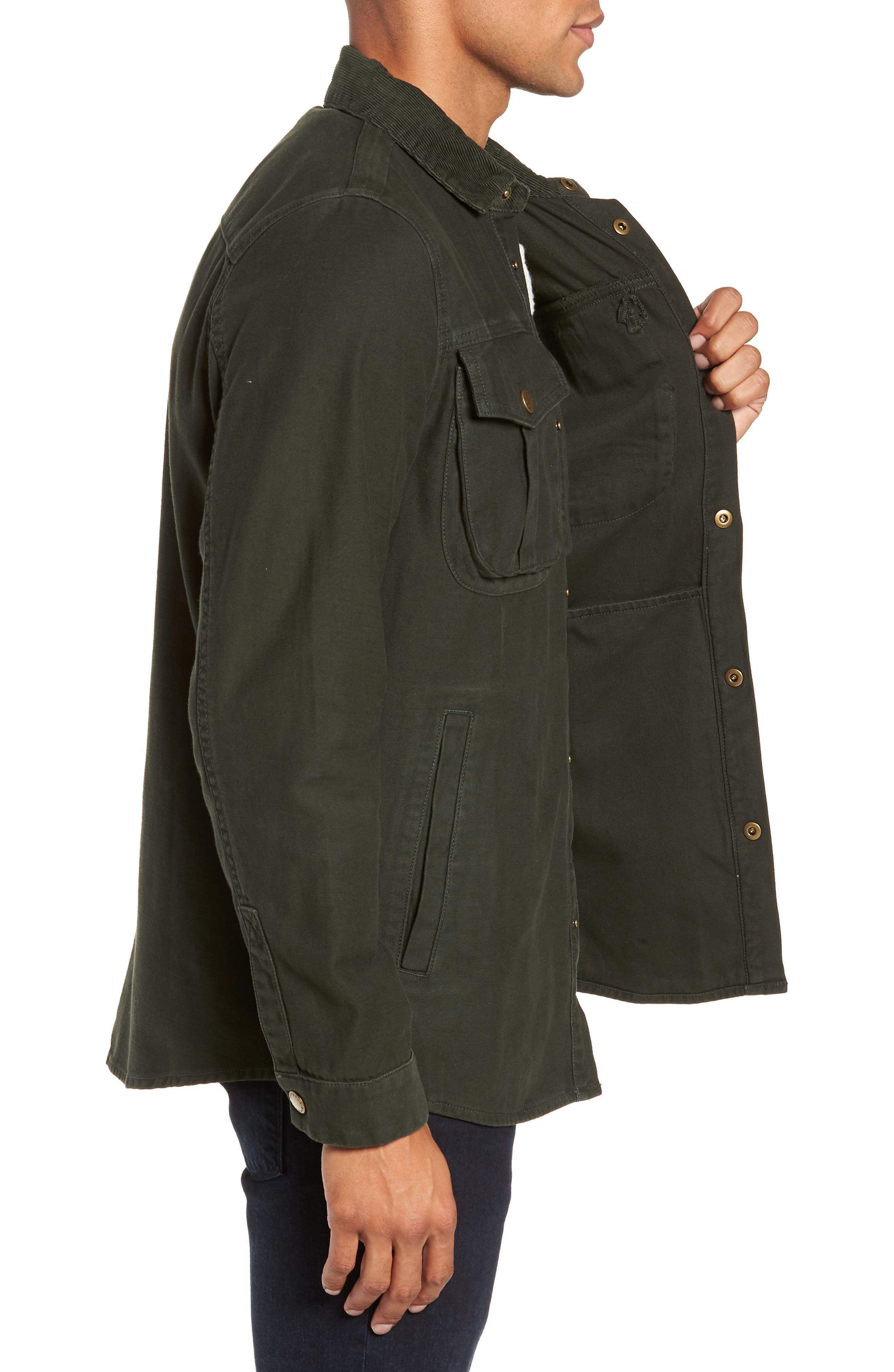 Deck Jacket,                             Alternate thumbnail 3, color,                             SEAWEED