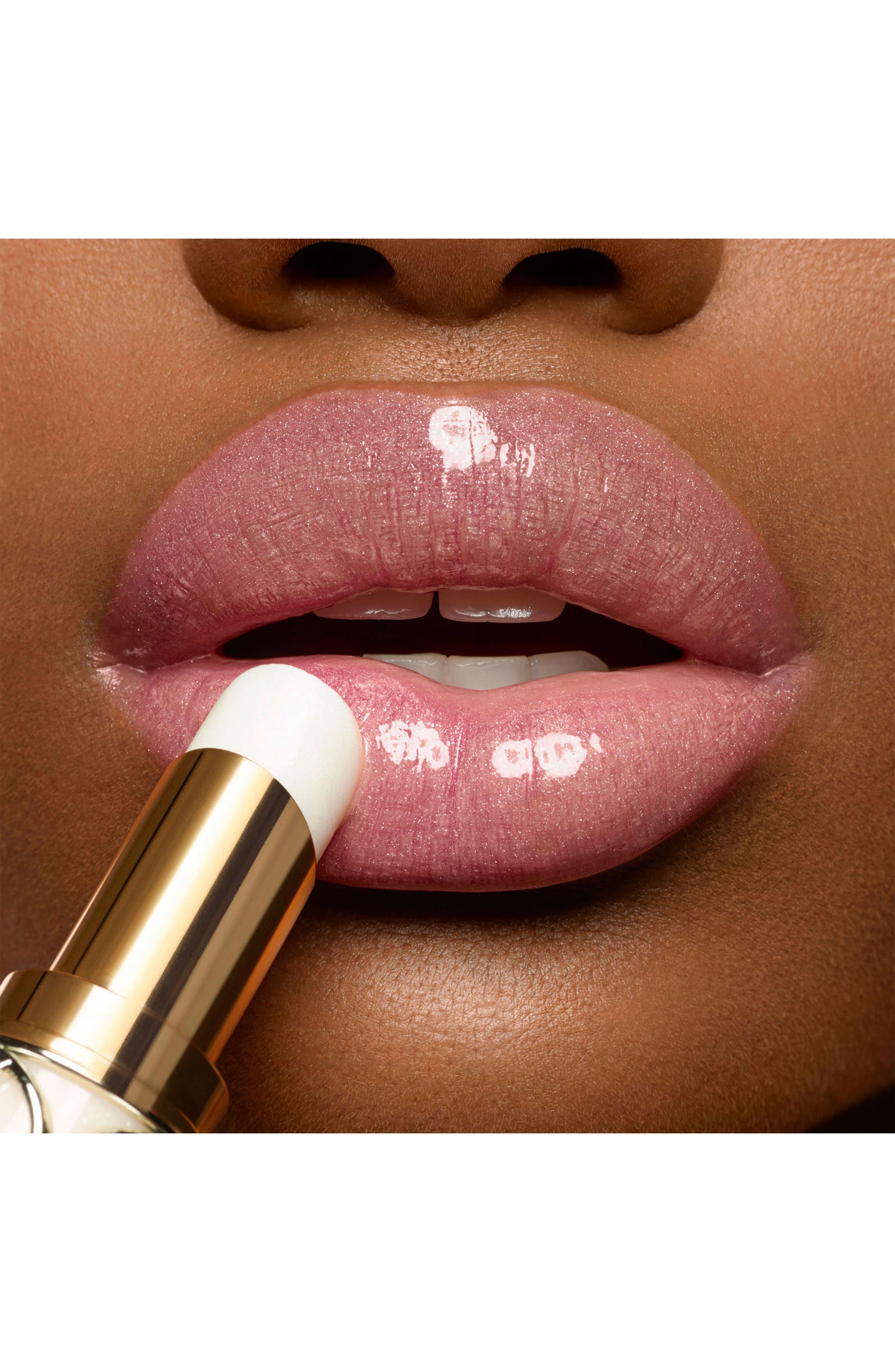 Rouge Volupté Shine Oil-in-Stick Lipstick,                             Alternate thumbnail 4, color,                             42 BAUME MIDI MINUIT